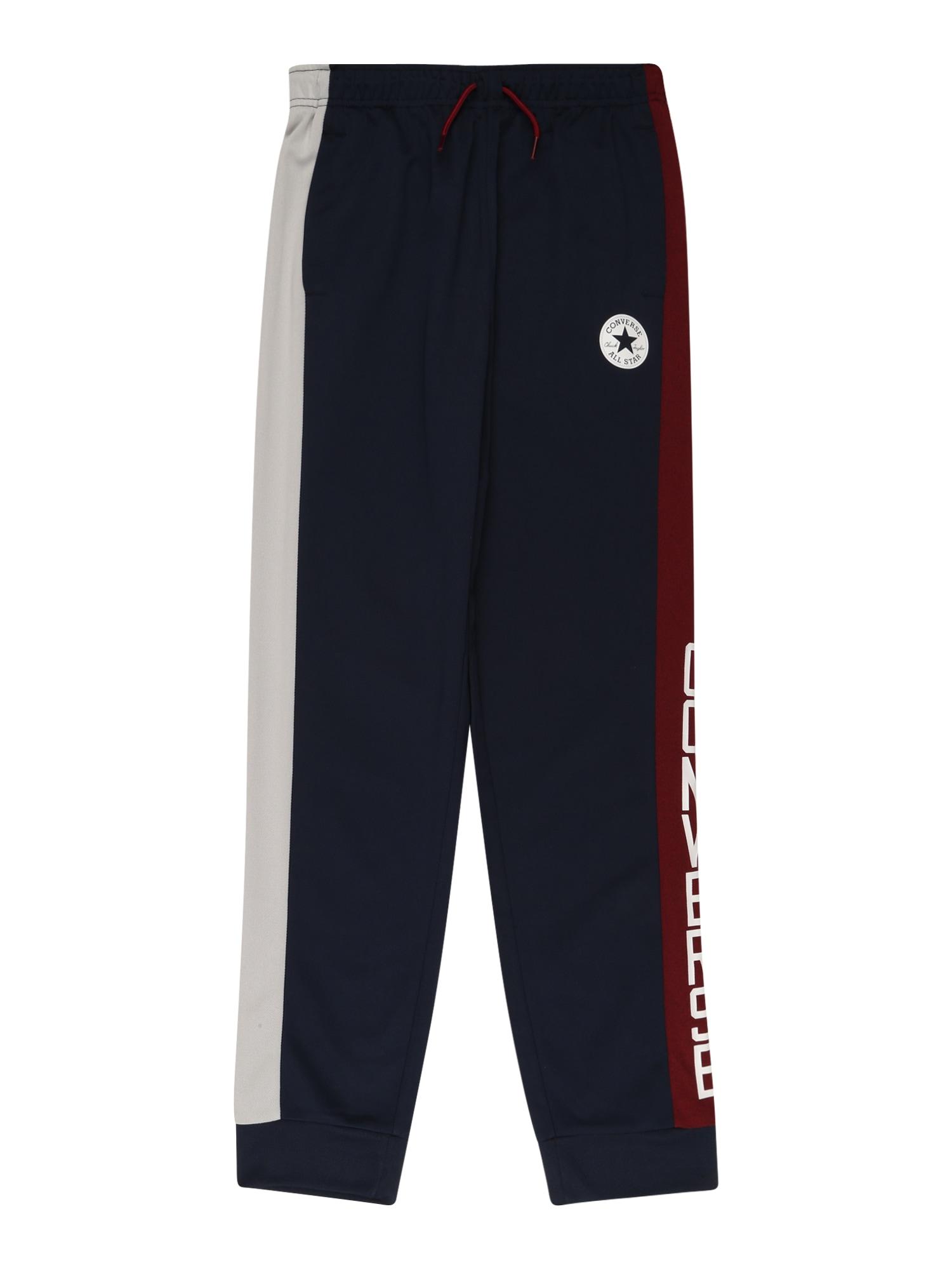 CONVERSE Kalhoty  tmavě modrá / červená / bílá