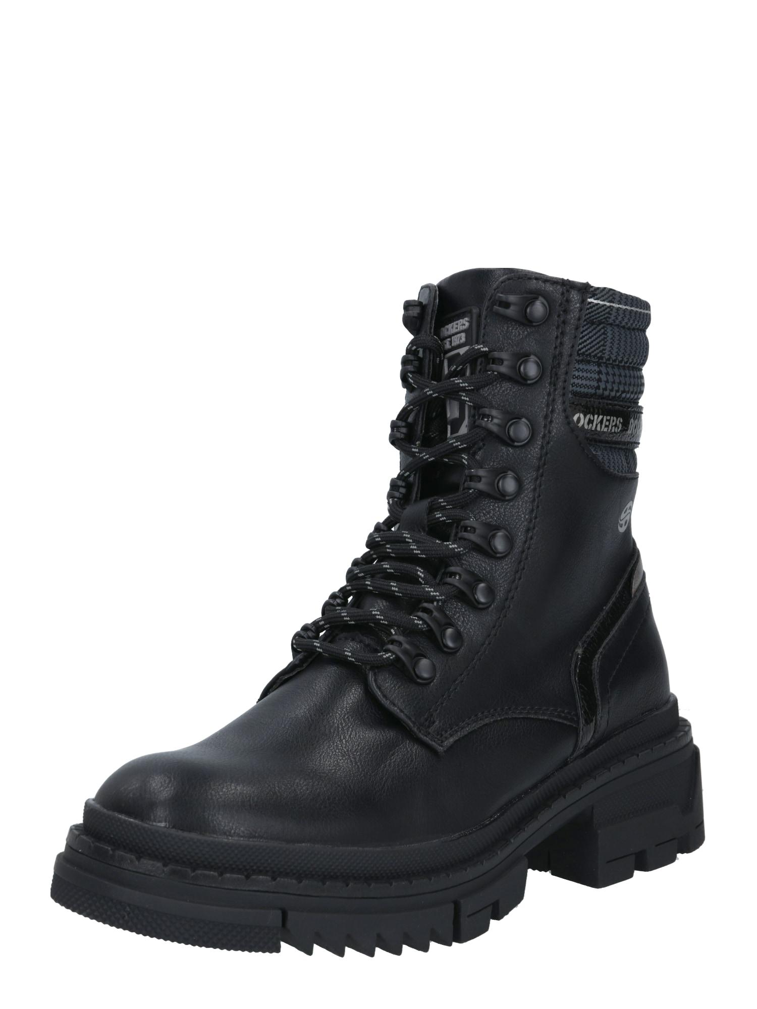 Dockers by Gerli Auliniai batai juoda / pilka