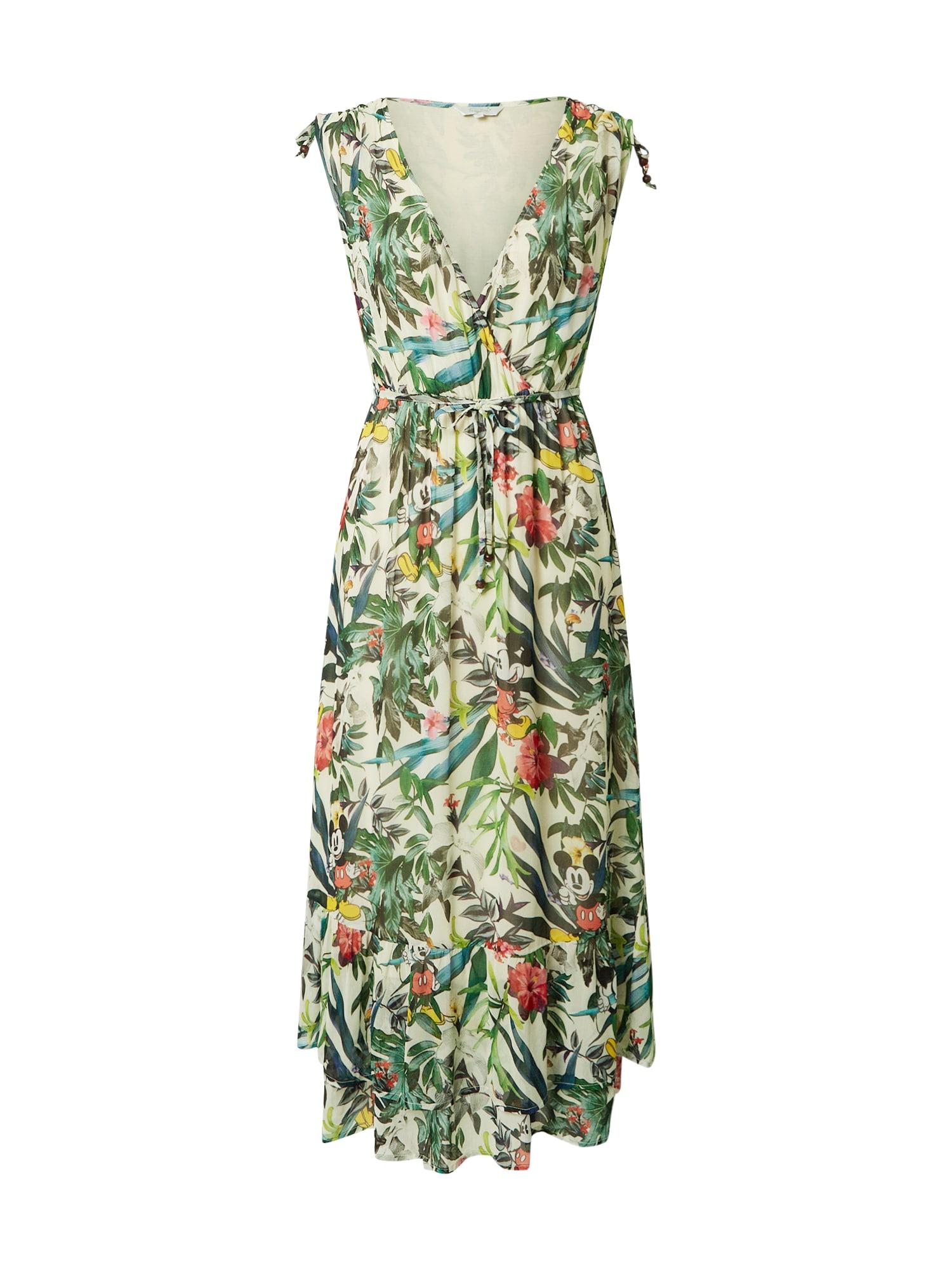 Frogbox Suknelė žalia / mišrios spalvos