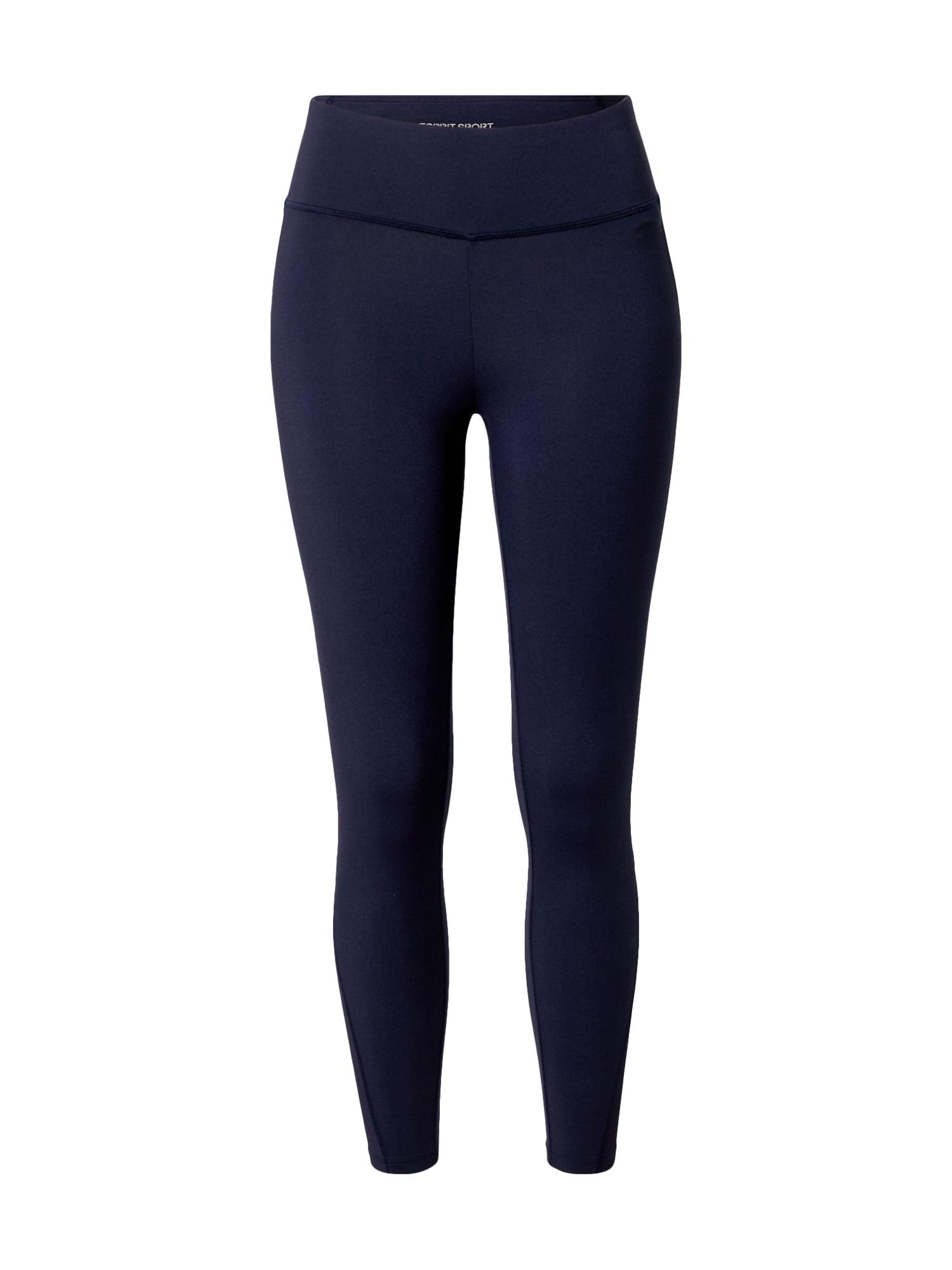 ESPRIT SPORT Sportinės kelnės tamsiai mėlyna