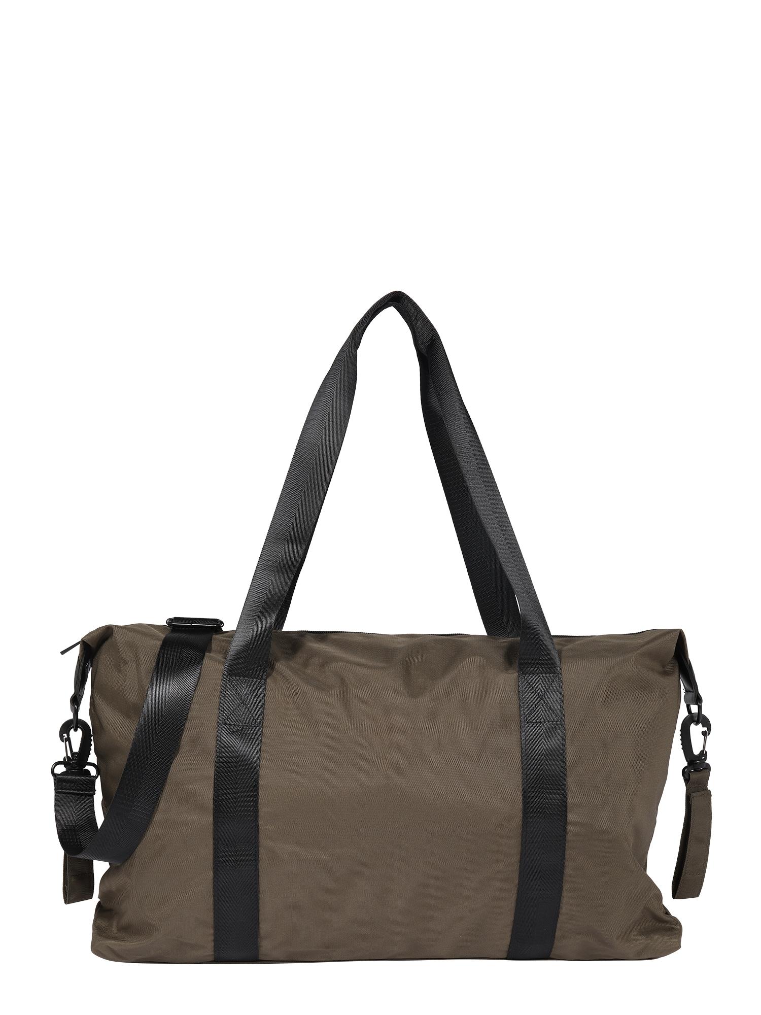 MAMALICIOUS Mamos krepšys juoda / rusvai žalia
