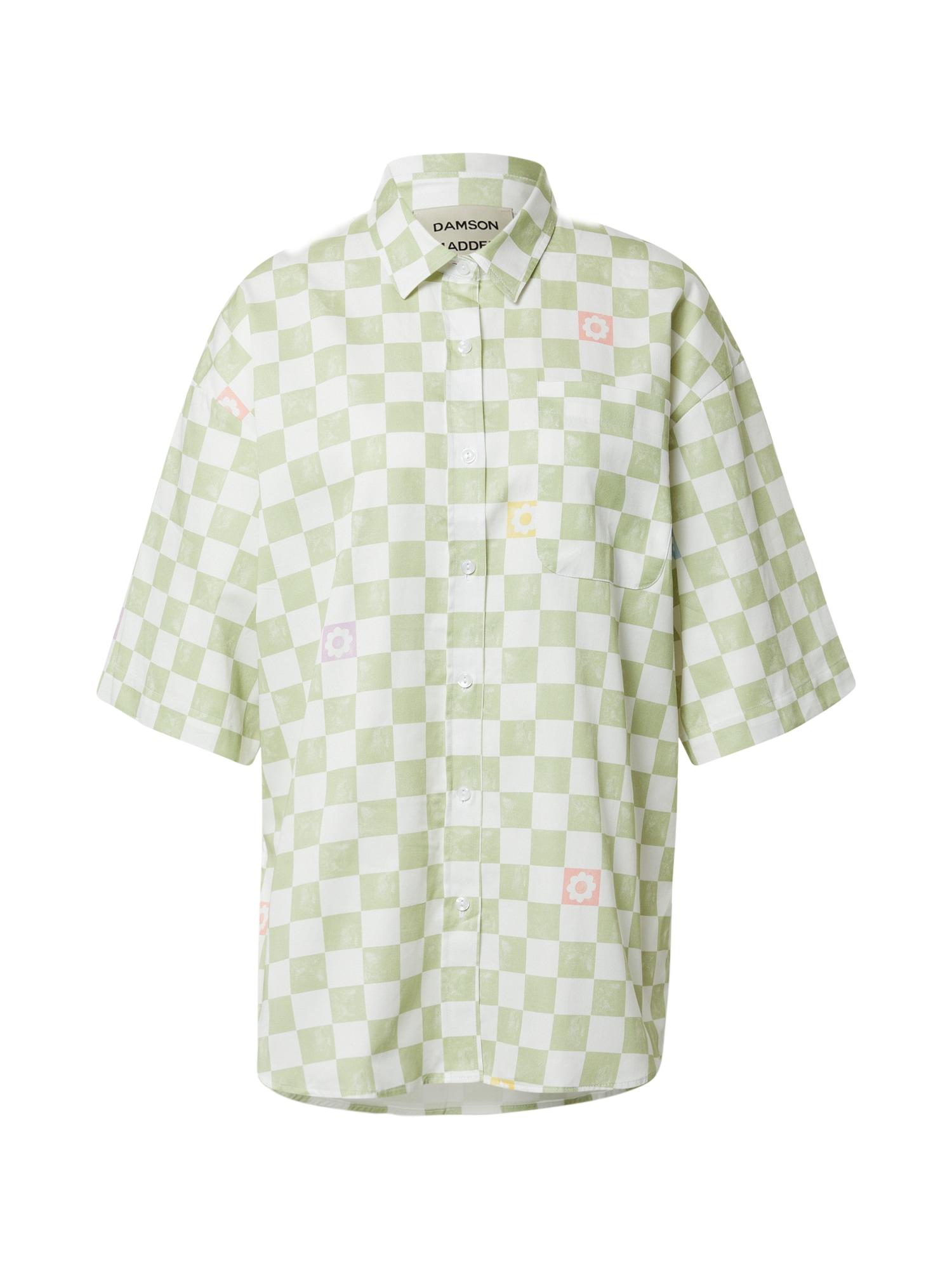 Damson Madder Palaidinė pastelinė žalia / balta / rožinė / šafrano spalva / šviesiai violetinė