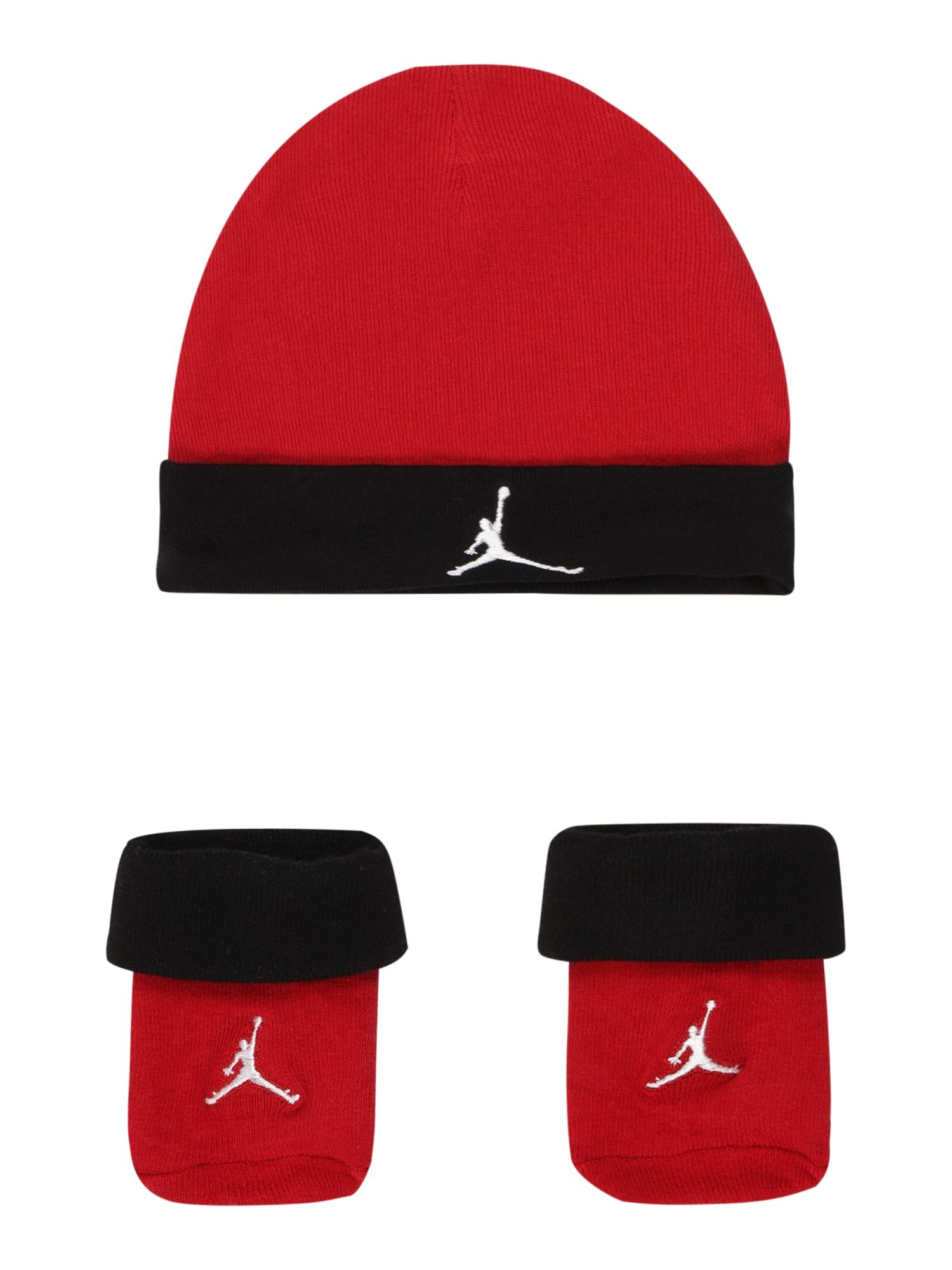 Jordan Megzta kepurė raudona / juoda