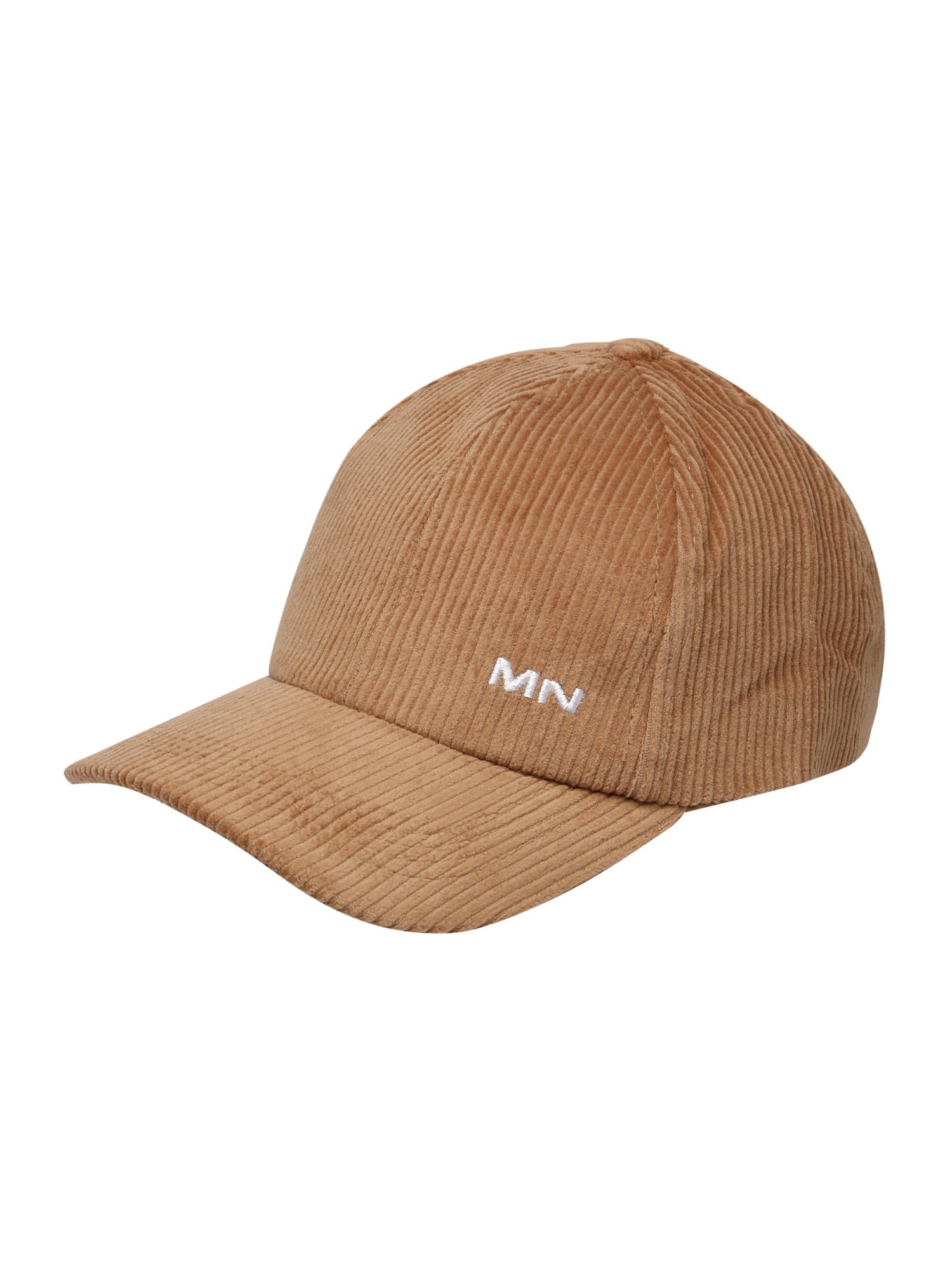 Mennace Kepurė smėlio / balta