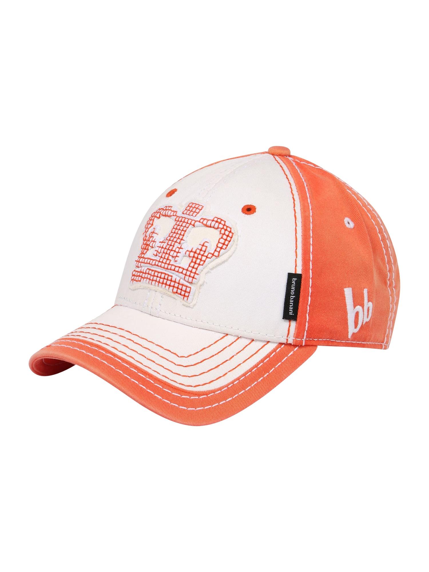 BRUNO BANANI Kepurė balta / oranžinė