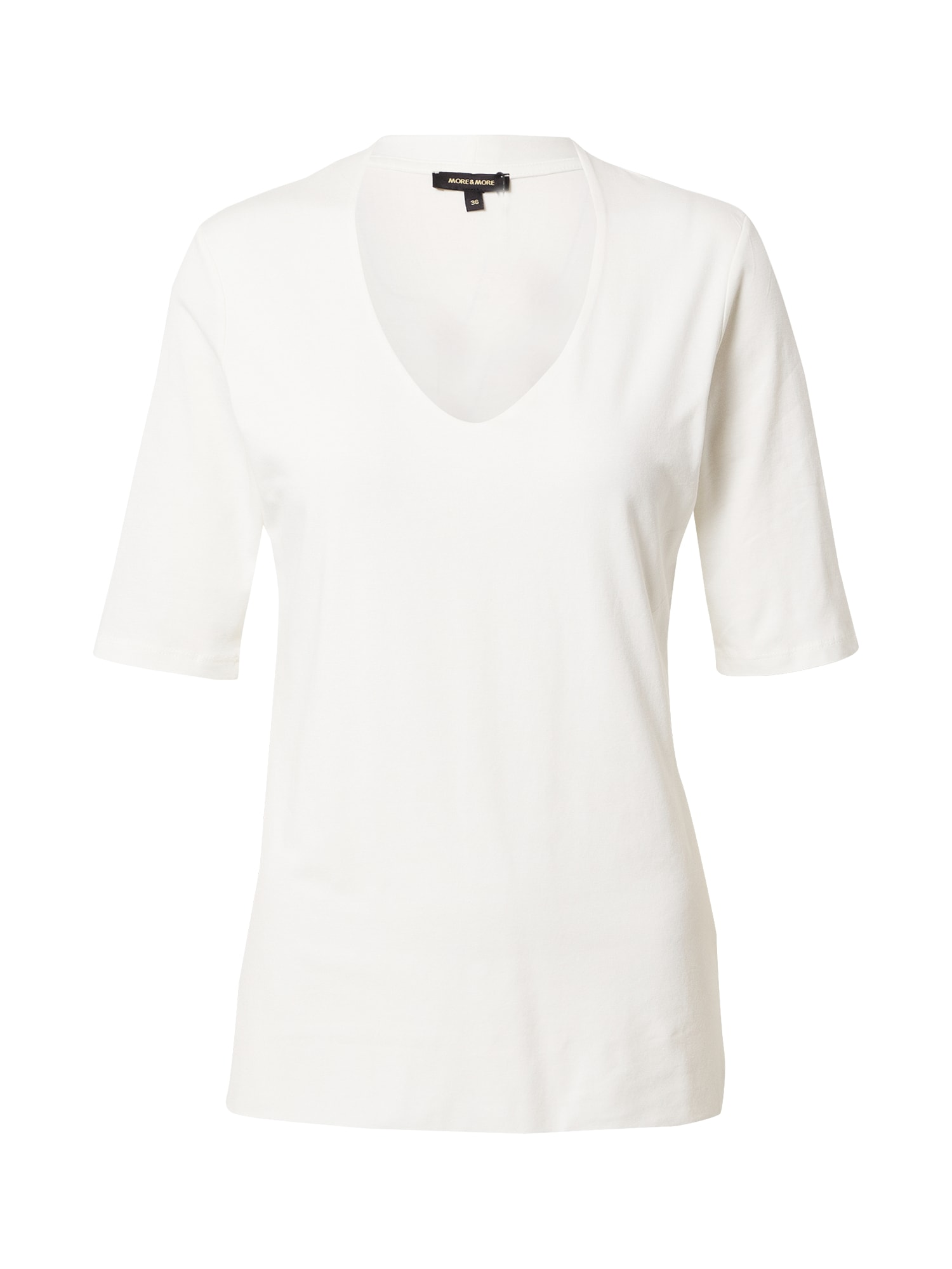 MORE & MORE Marškinėliai balta