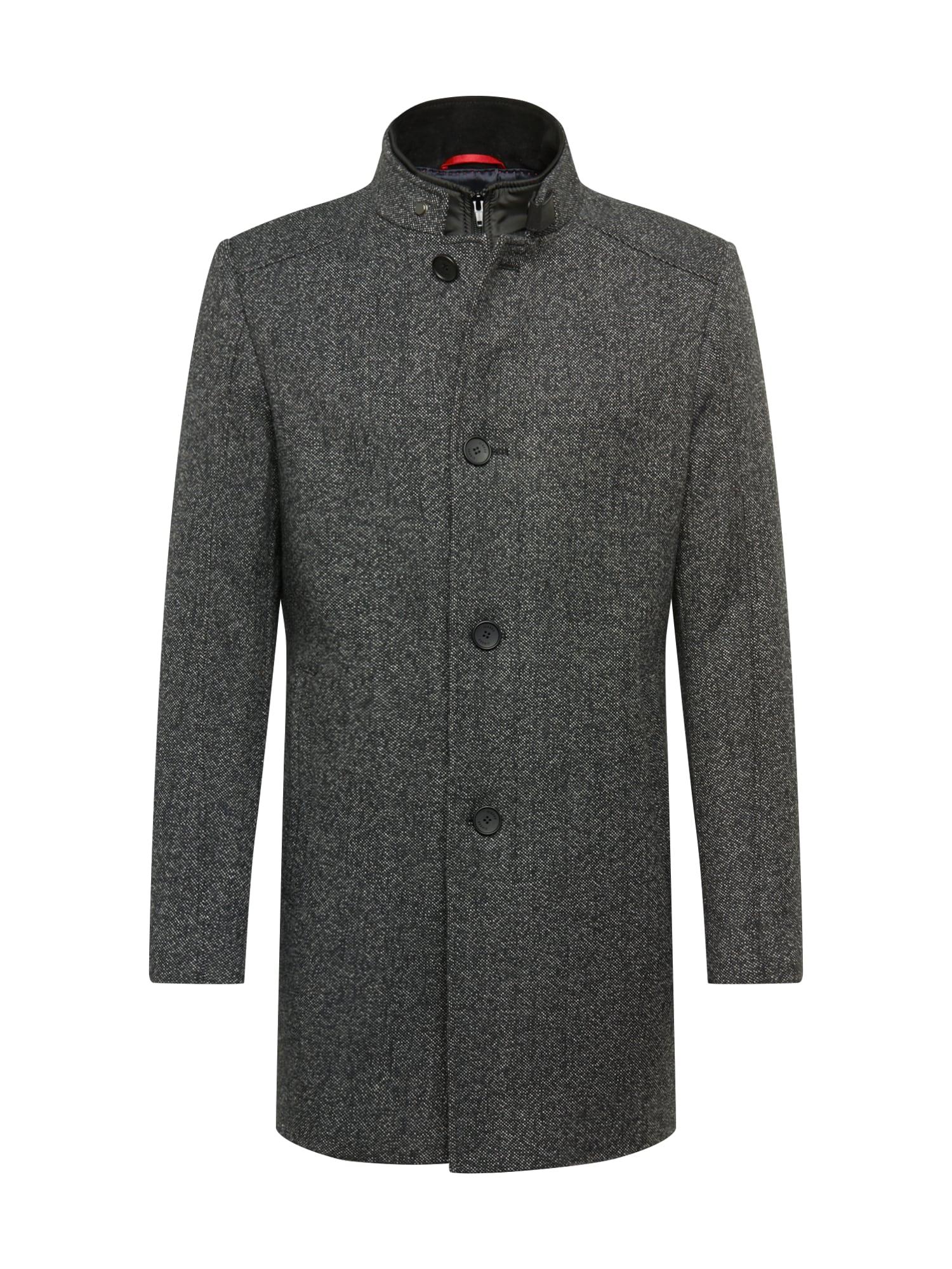 CINQUE Demisezoninis paltas margai pilka