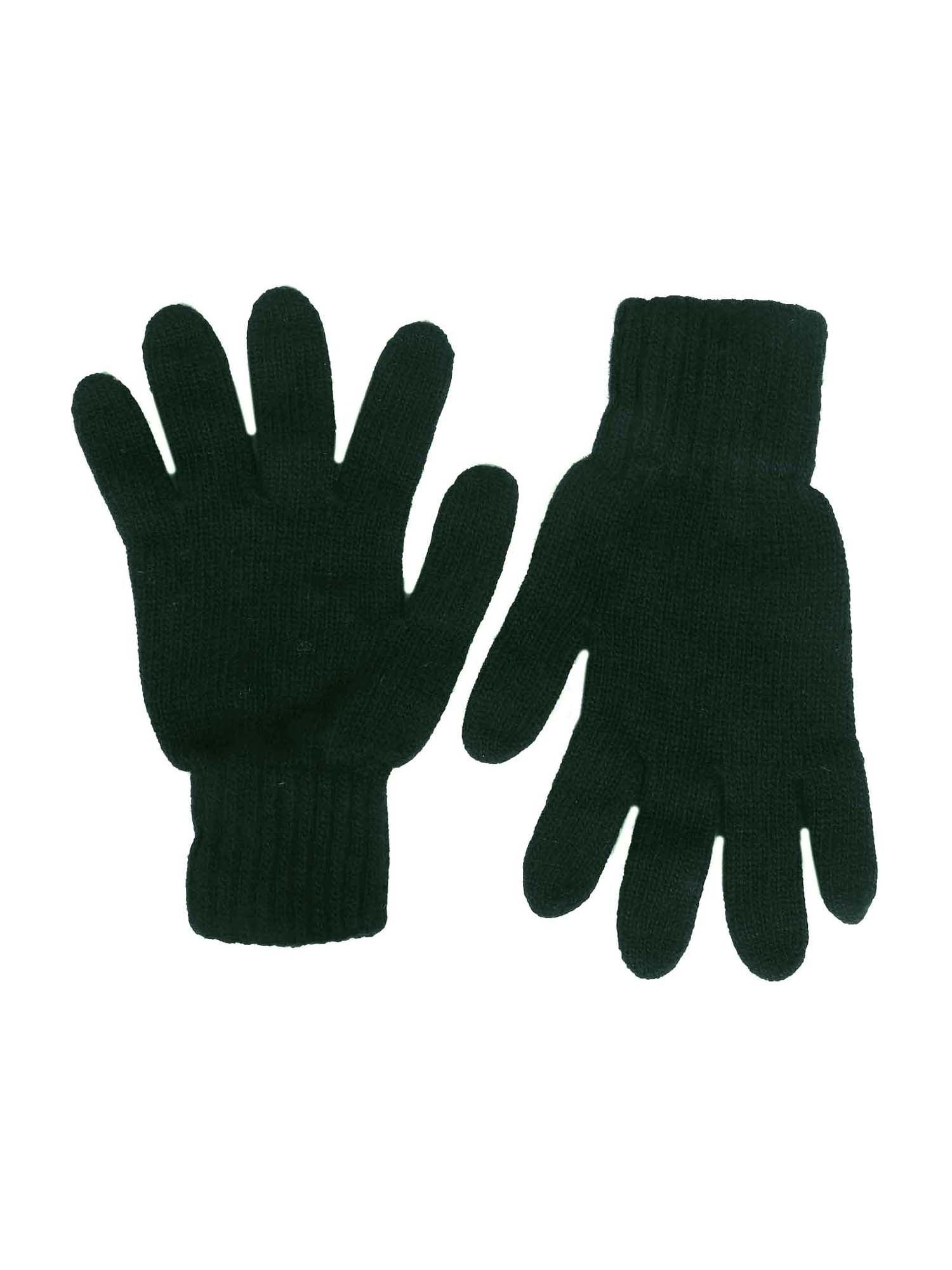 Zwillingsherz Pirštuotos pirštinės tamsiai žalia