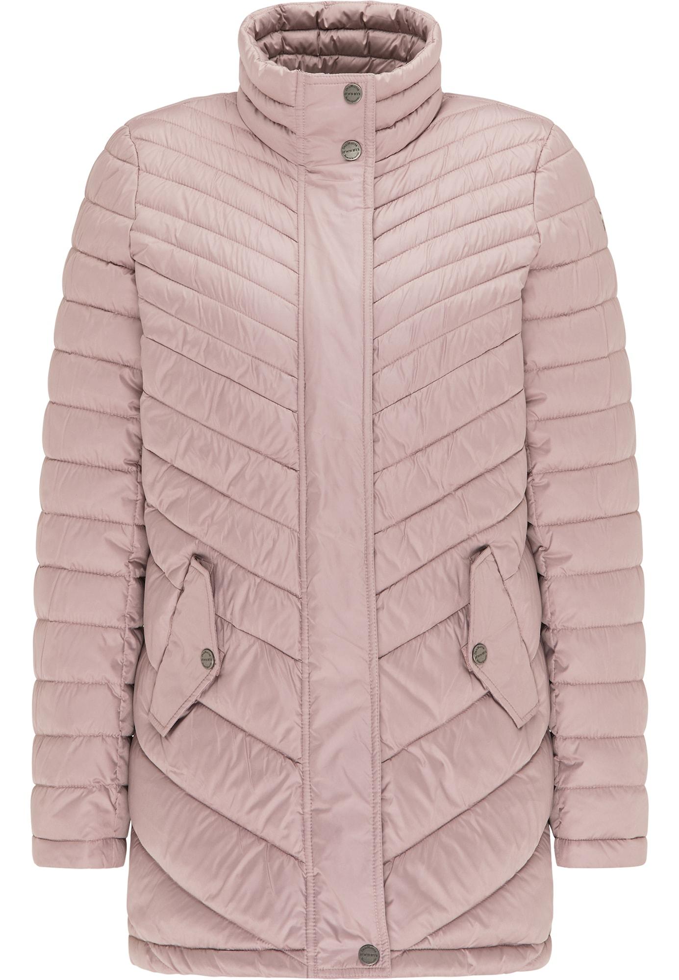 DreiMaster Klassik Žieminis paltas ryškiai rožinė spalva