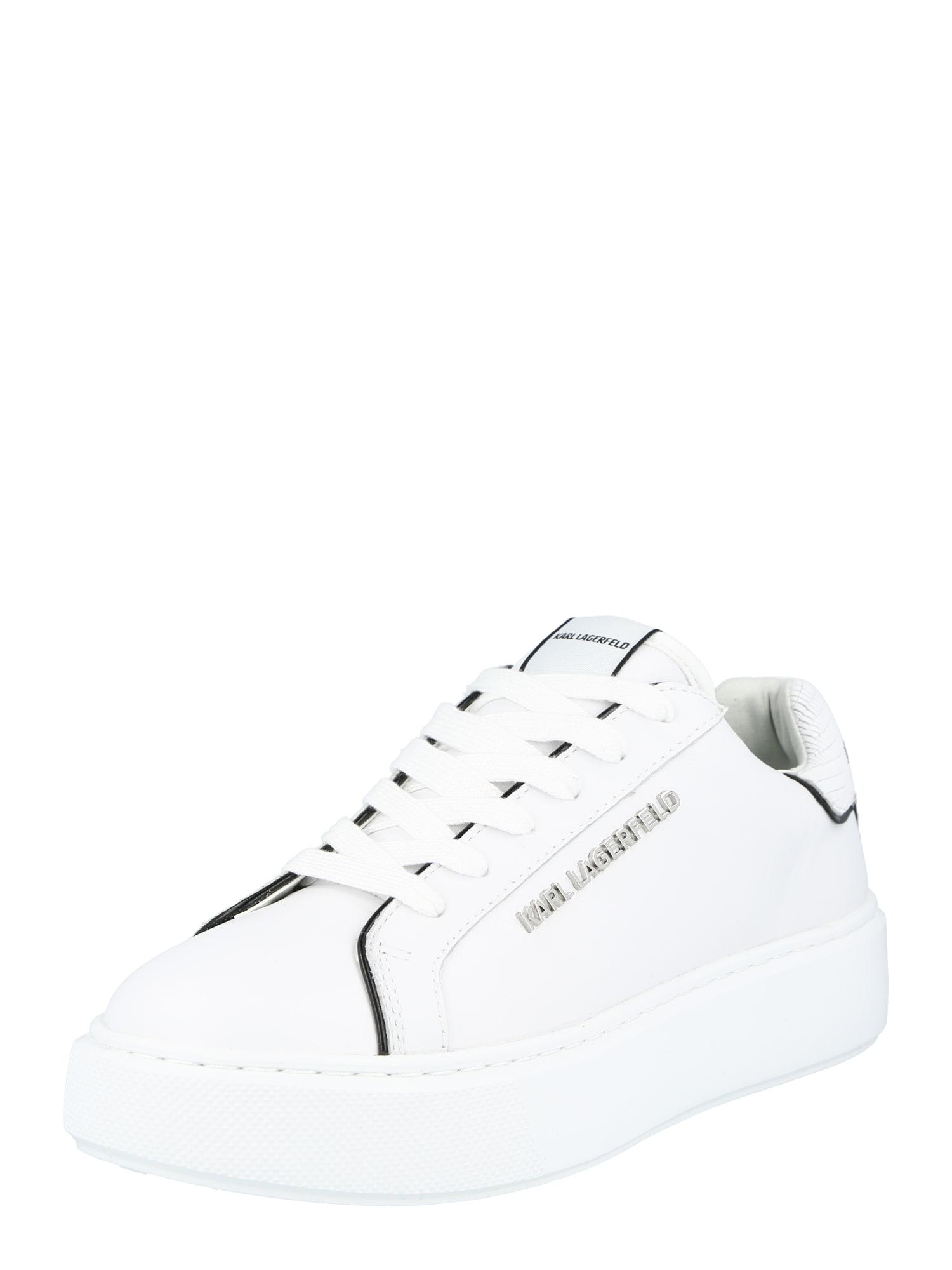 Karl Lagerfeld Tenisky 'MAXI KUP'  bílá / černá