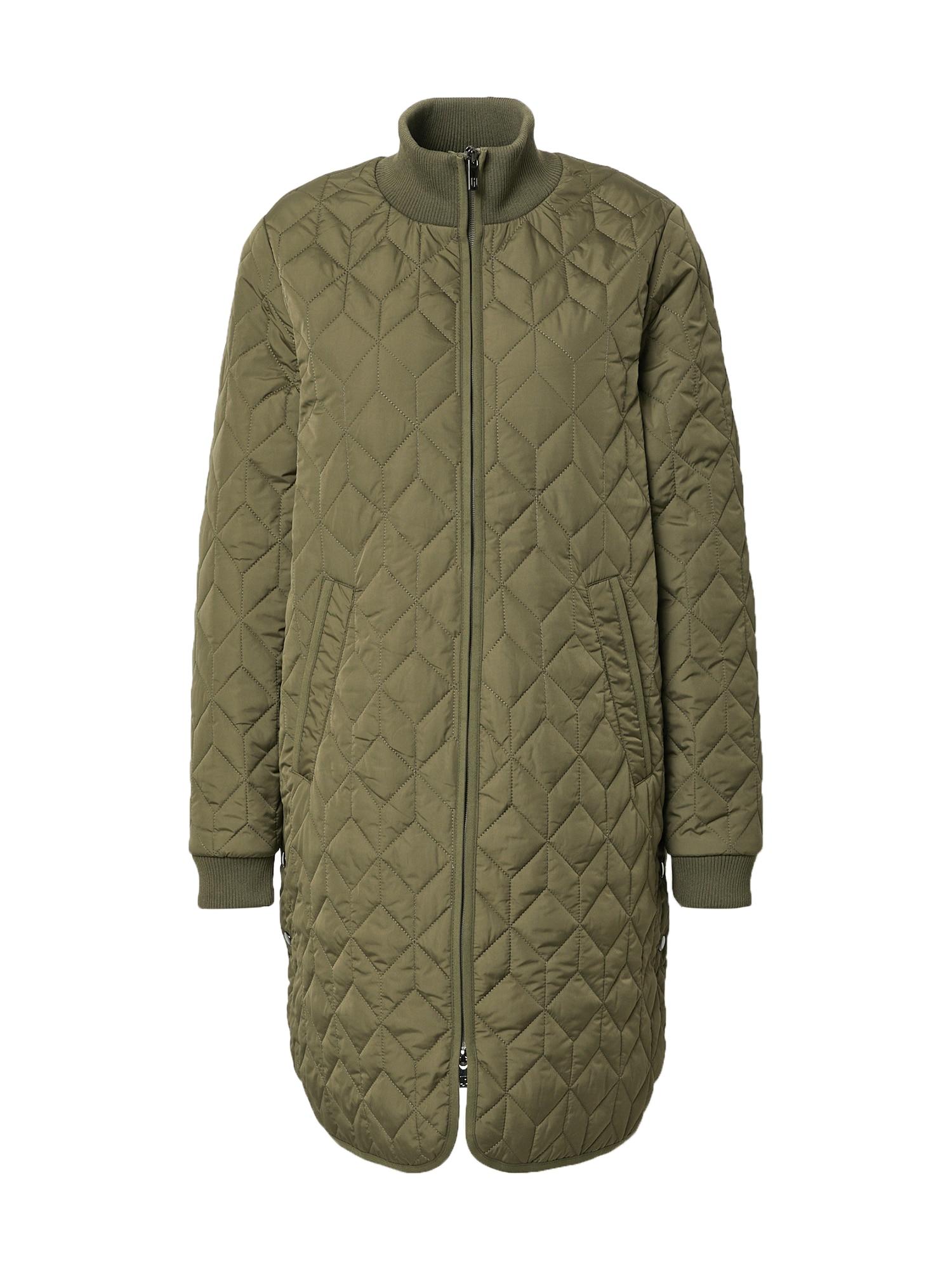 ILSE JACOBSEN Demisezoninis paltas rusvai žalia
