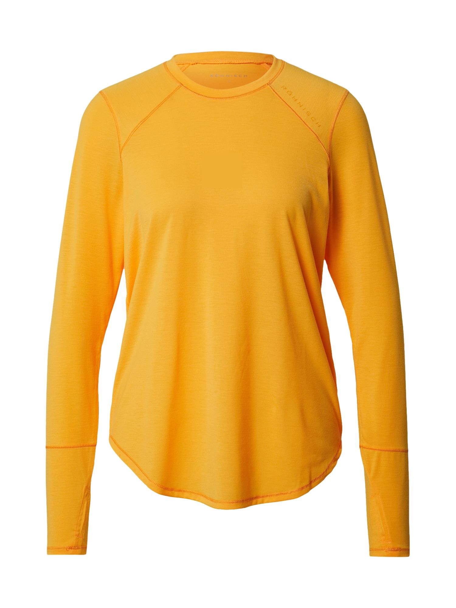 Röhnisch Sportiniai marškinėliai mandarinų spalva