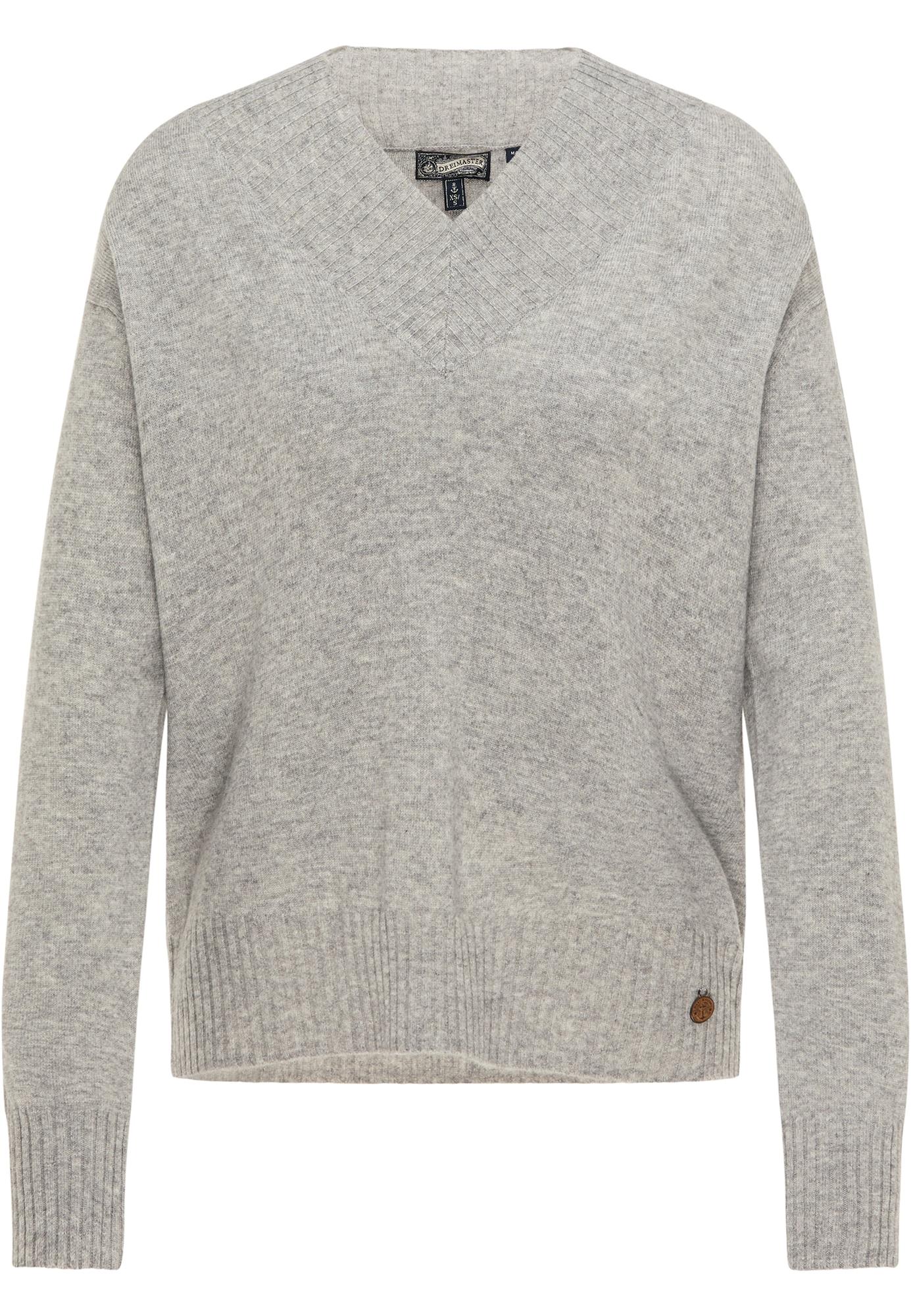 DreiMaster Vintage Megztinis margai pilka