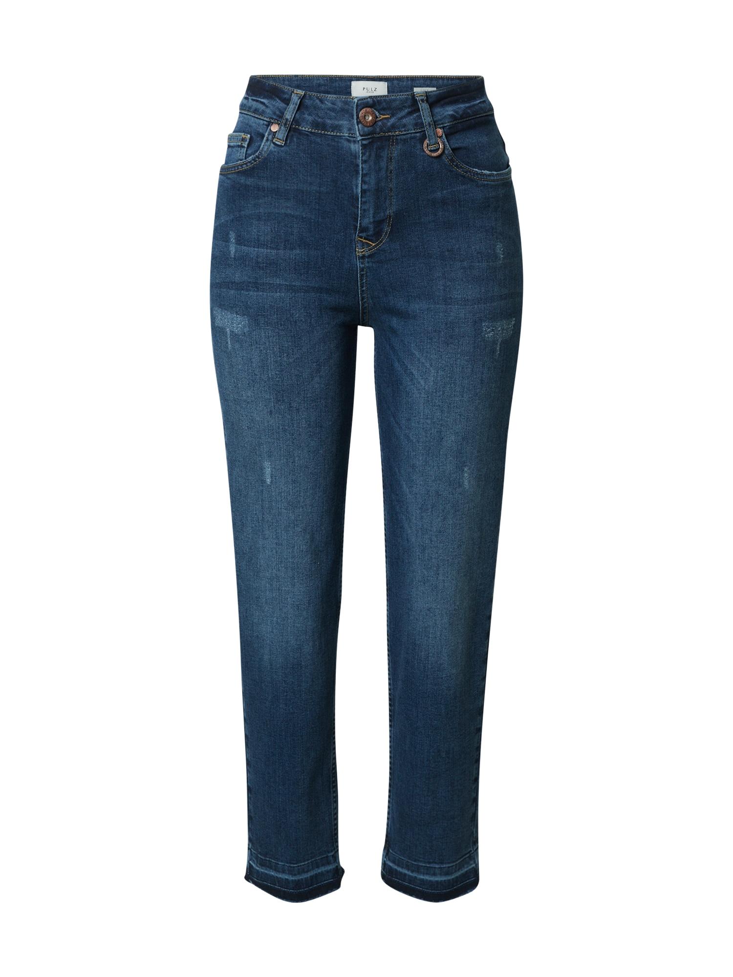 PULZ Jeans Džinsai tamsiai (džinso) mėlyna