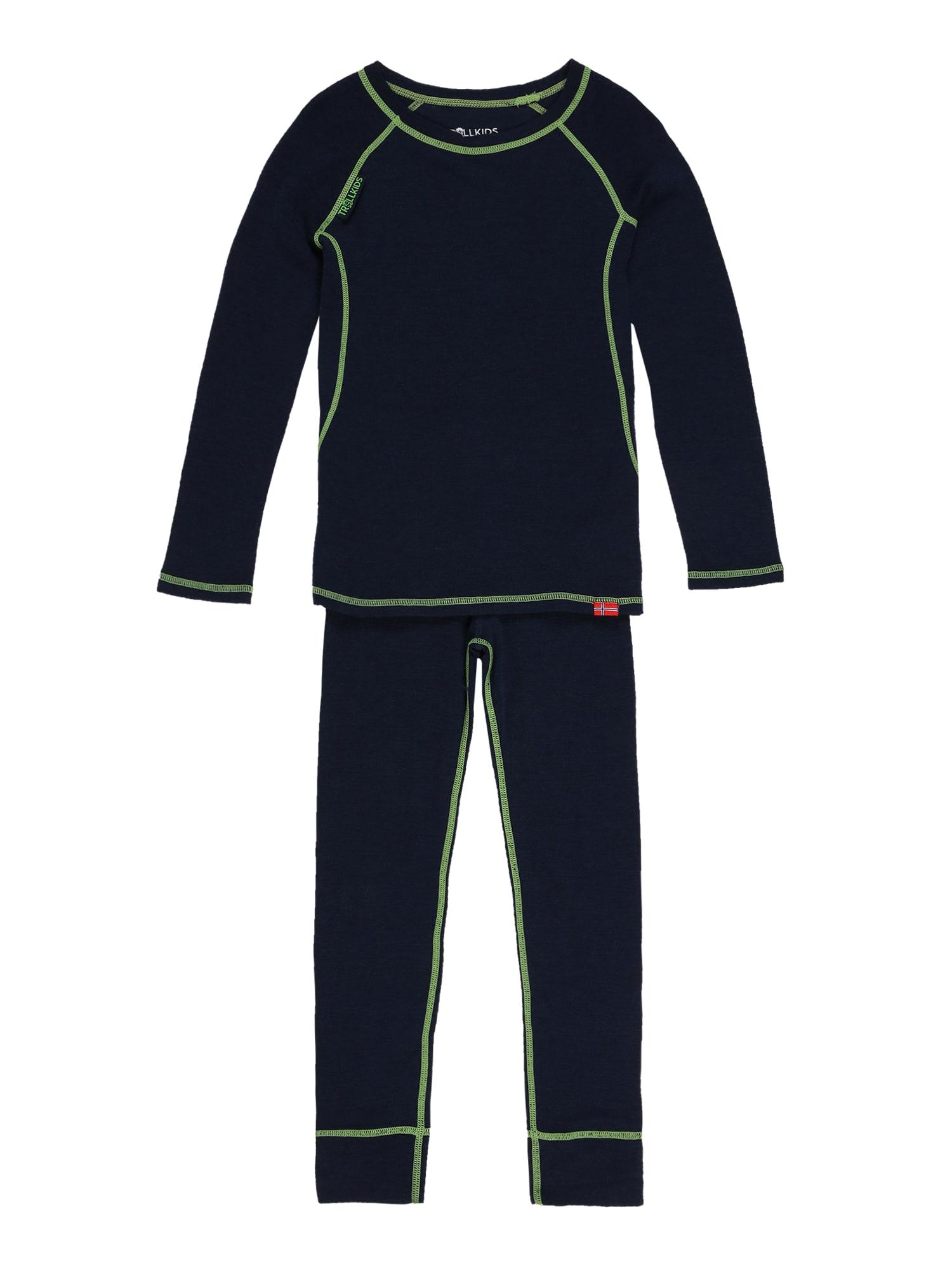 TROLLKIDS Sportinio stiliaus apatiniai drabužiai tamsiai mėlyna