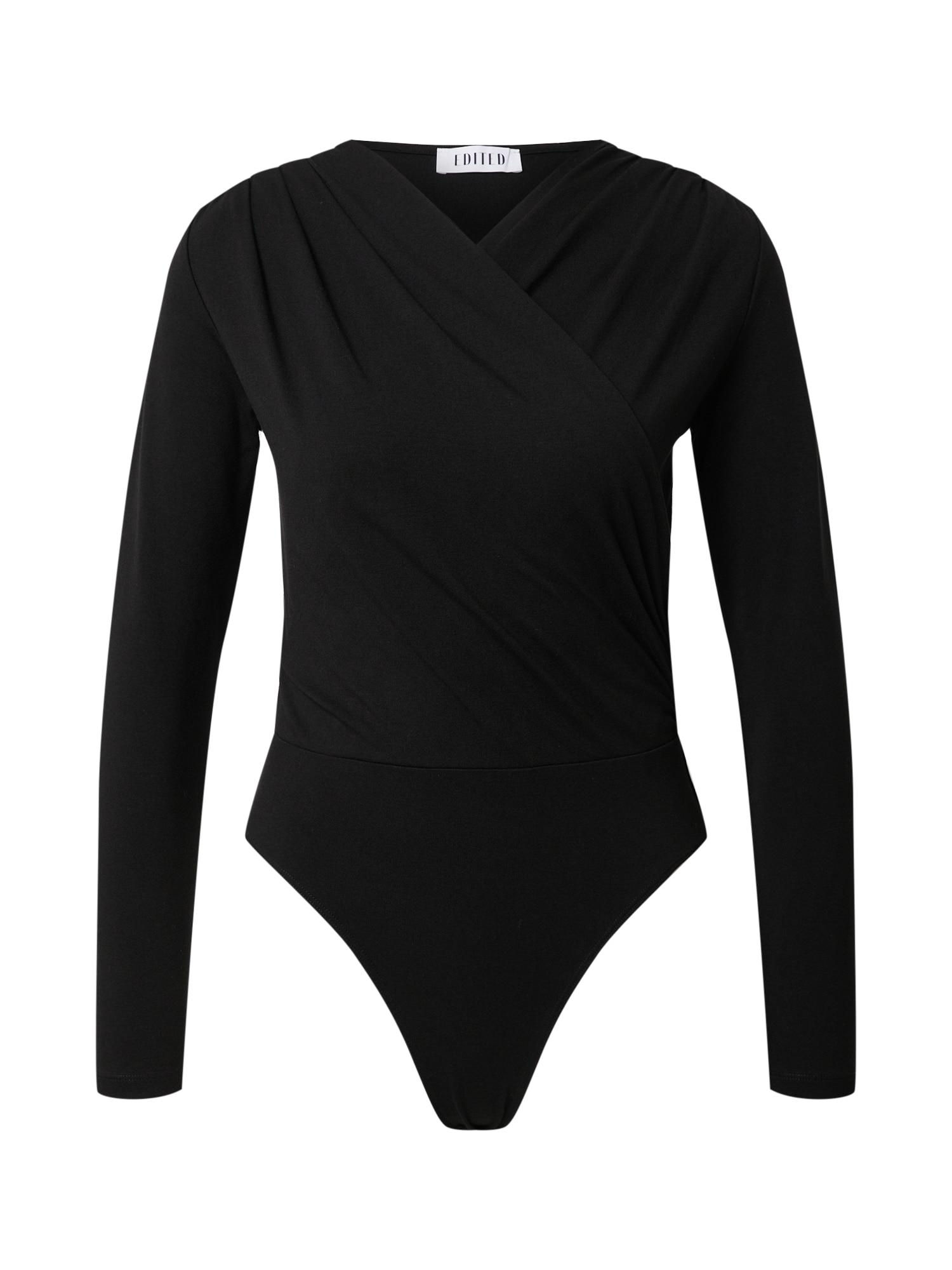 EDITED Marškinėliai-glaustinukė 'Swantje' juoda