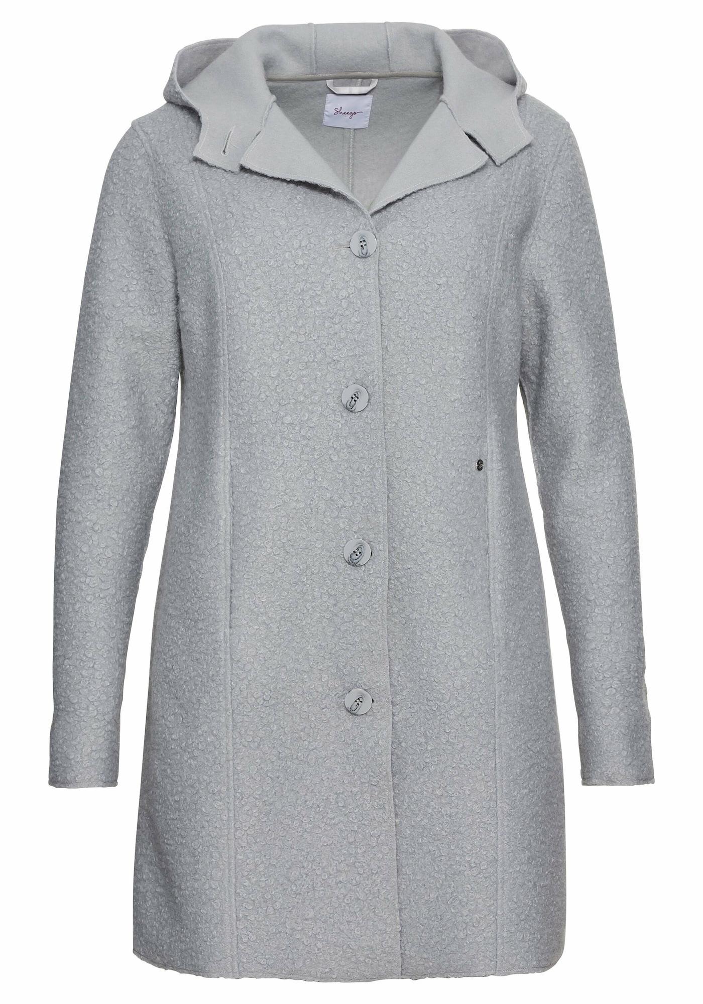 SHEEGO Demisezoninis paltas šviesiai pilka