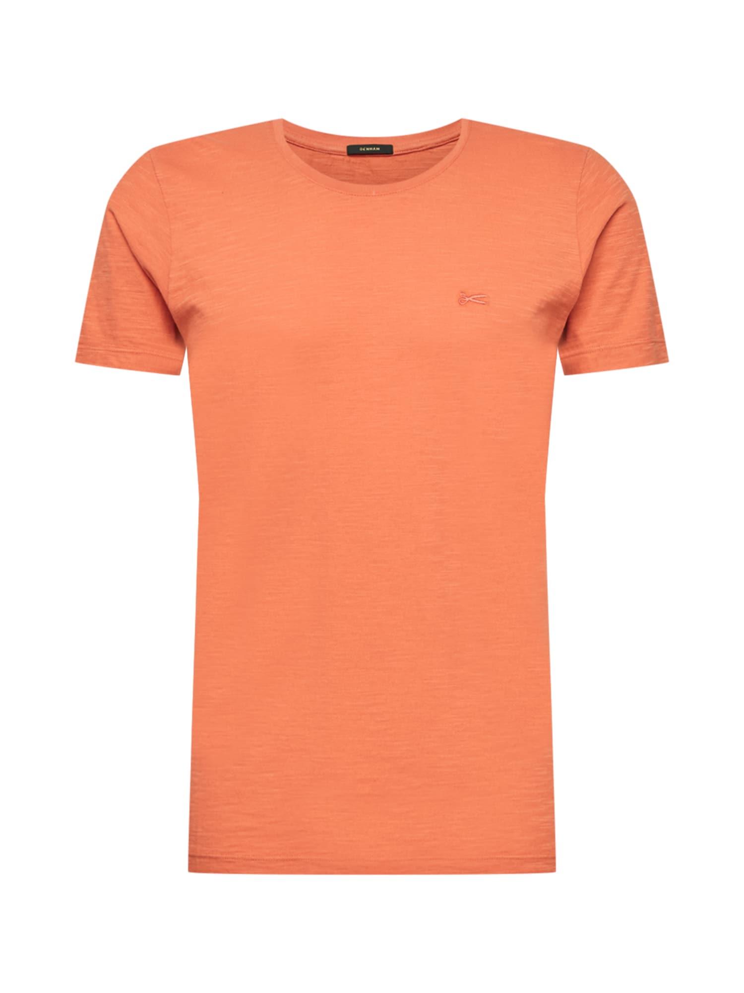 DENHAM Marškinėliai oranžinė-raudona