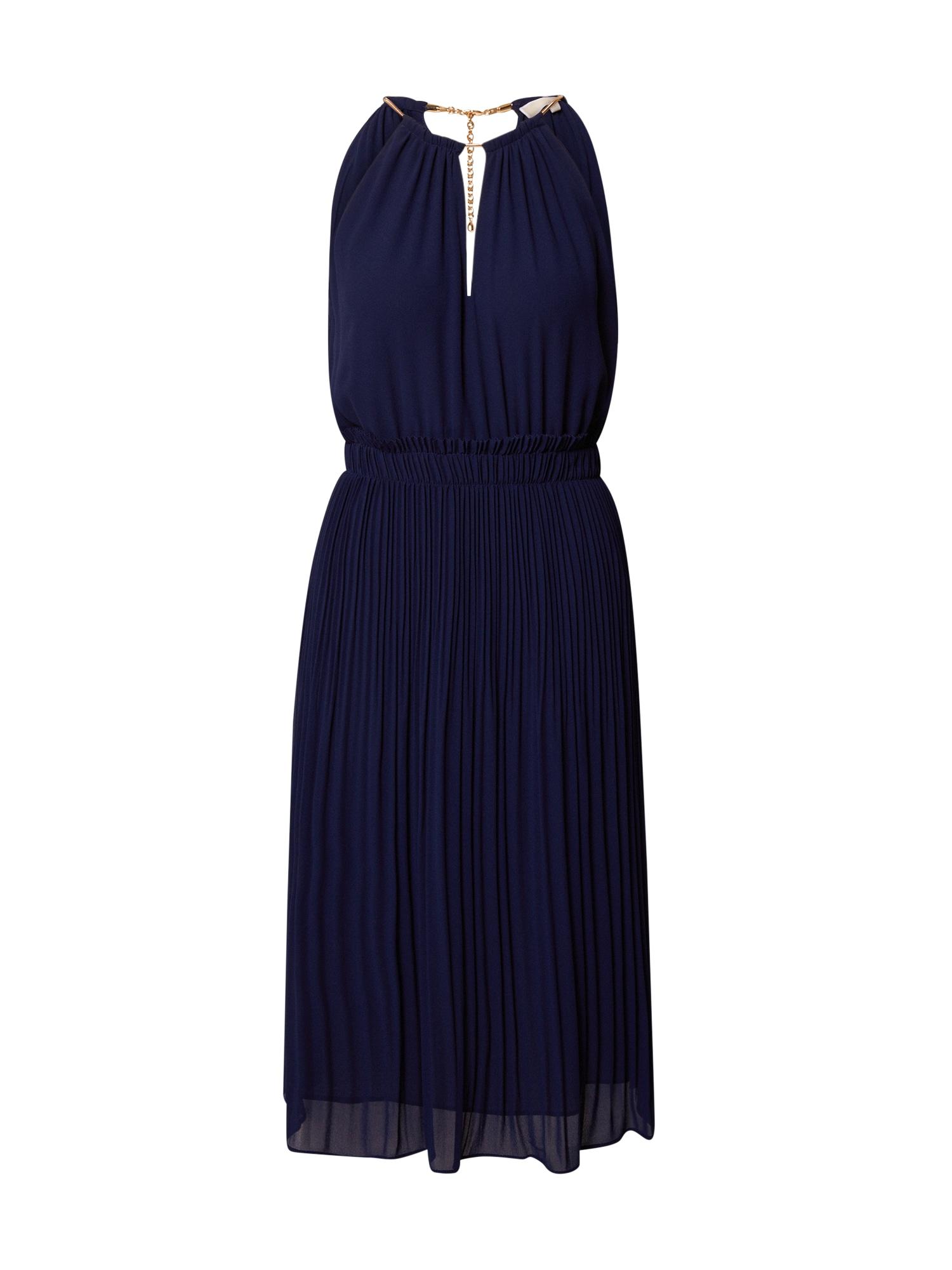 MICHAEL Michael Kors Vakarinė suknelė tamsiai mėlyna