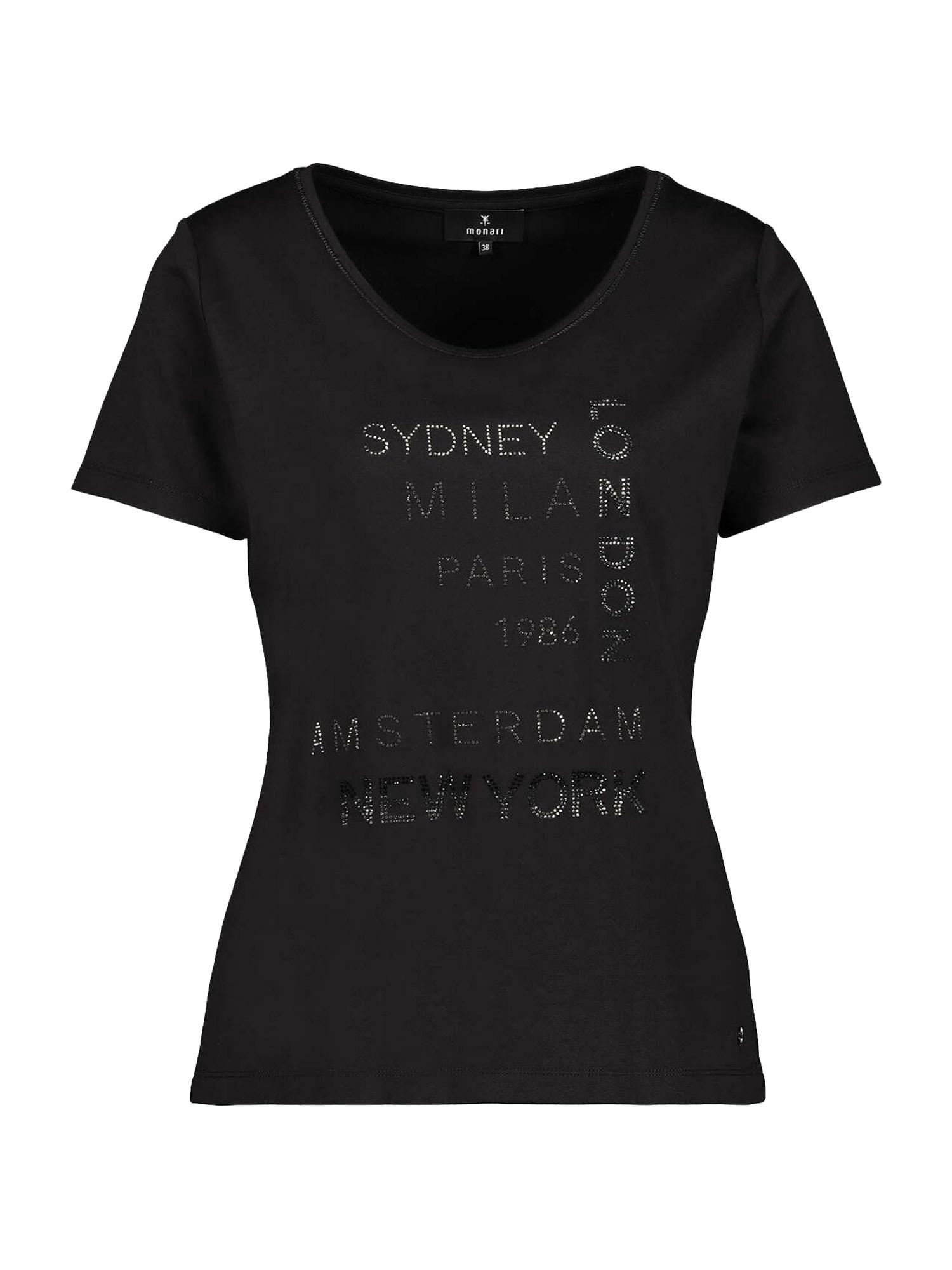 monari Marškinėliai juoda