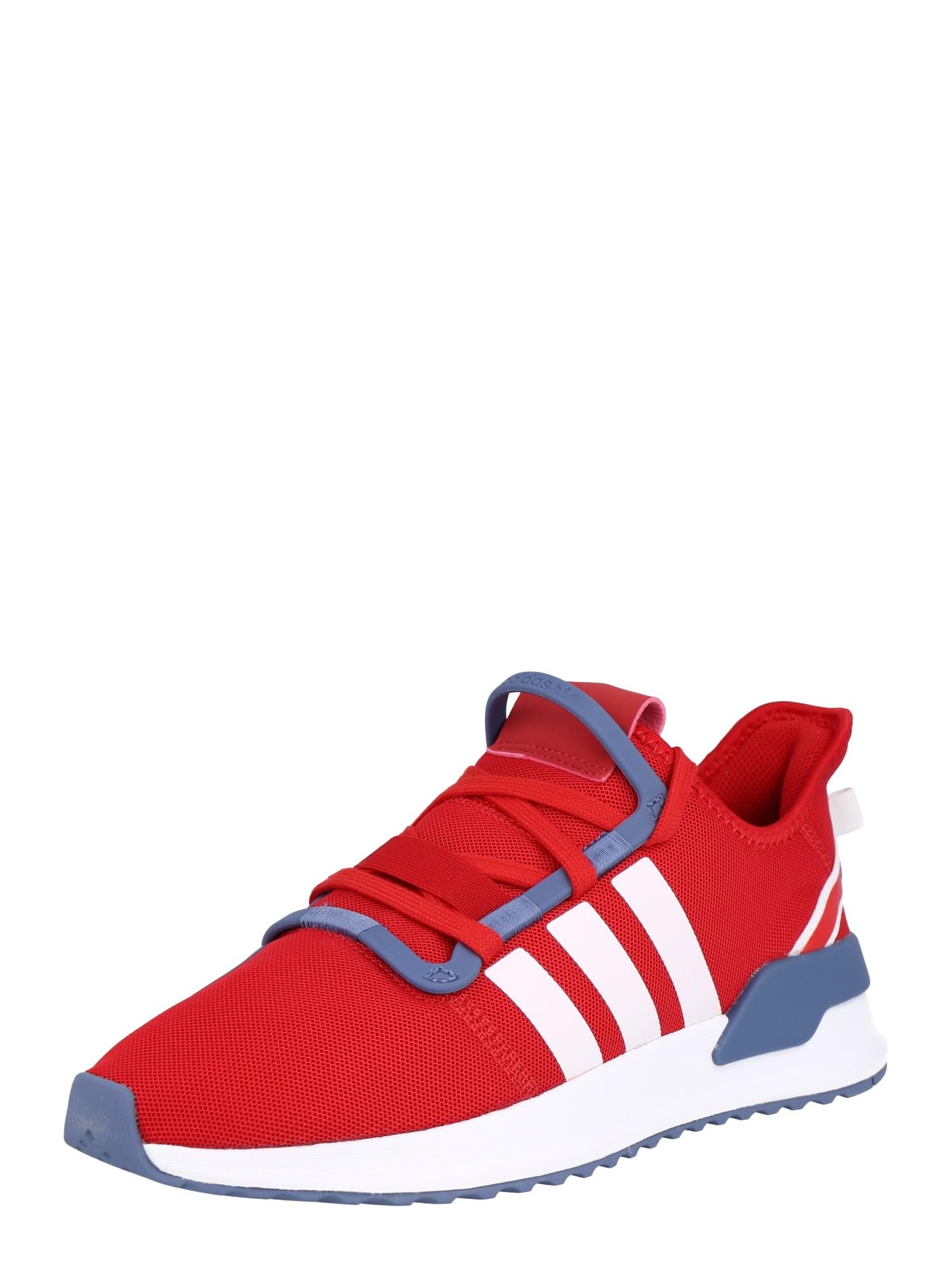 ADIDAS ORIGINALS Nízke tenisky  červená / biela / modrosivá