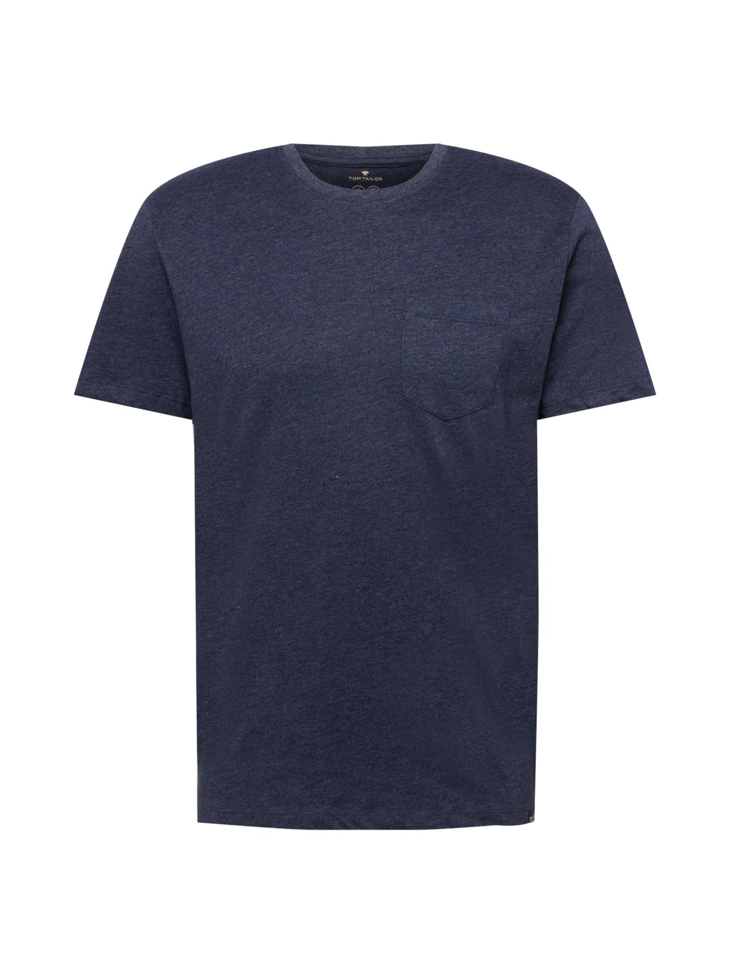 TOM TAILOR Tričko  modrá