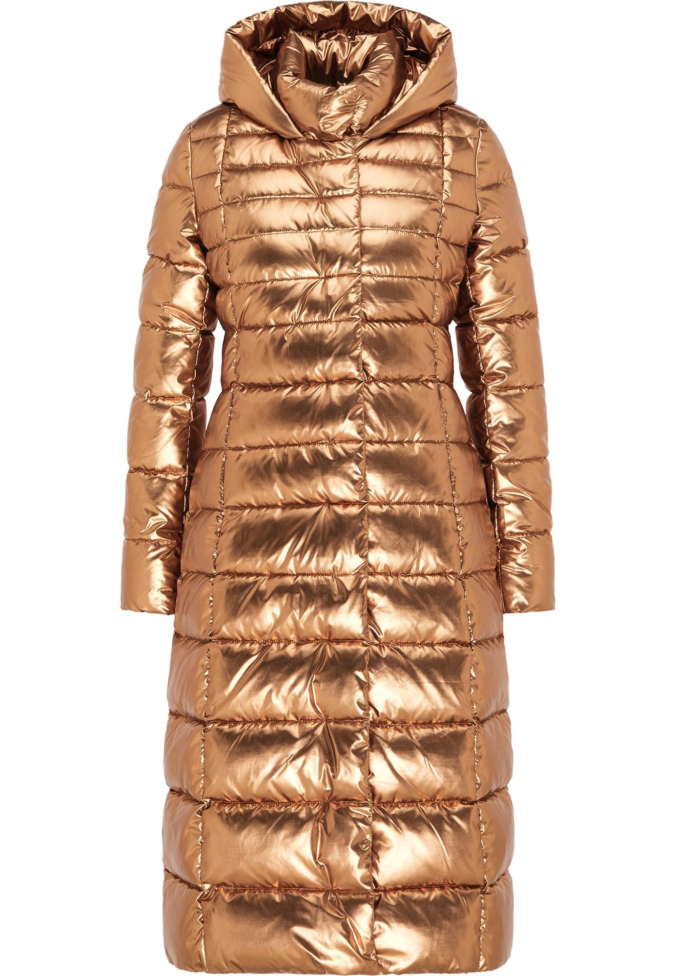 faina Žieminis paltas auksas