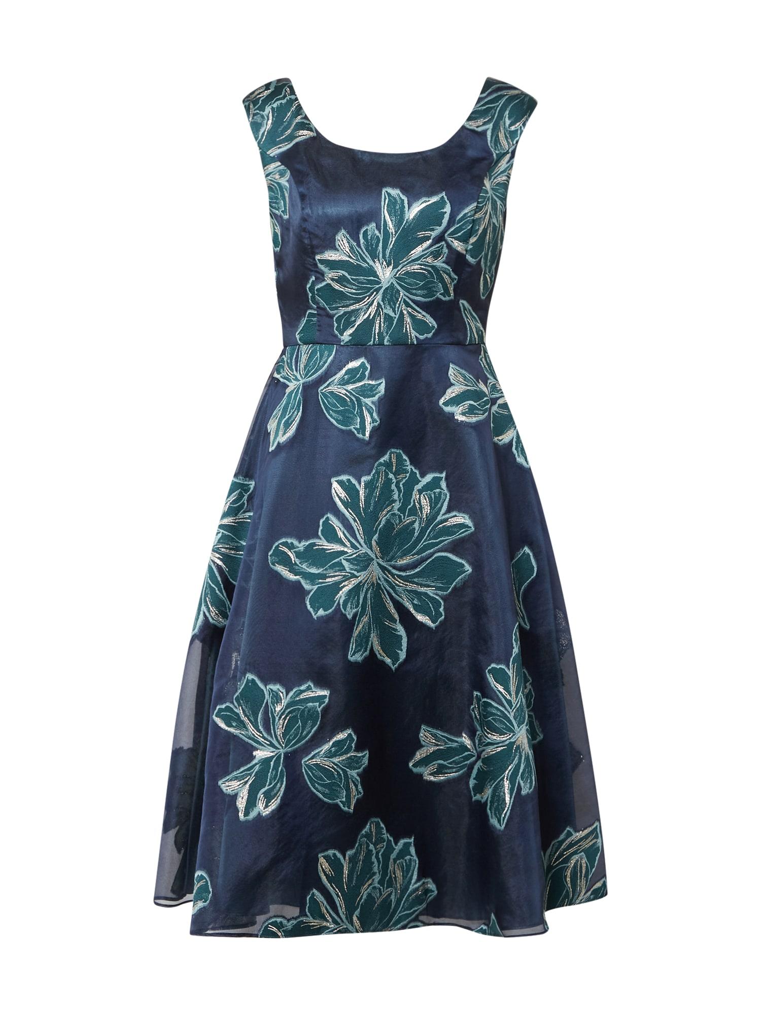 Vera Mont Kokteilinė suknelė žalia / tamsiai mėlyna / sidabrinė / mėtų spalva