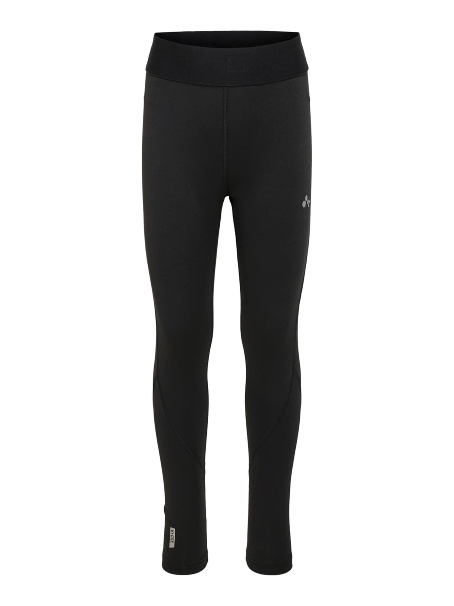 KIDS ONLY Sportinės kelnės 'Gill' juoda / pilka