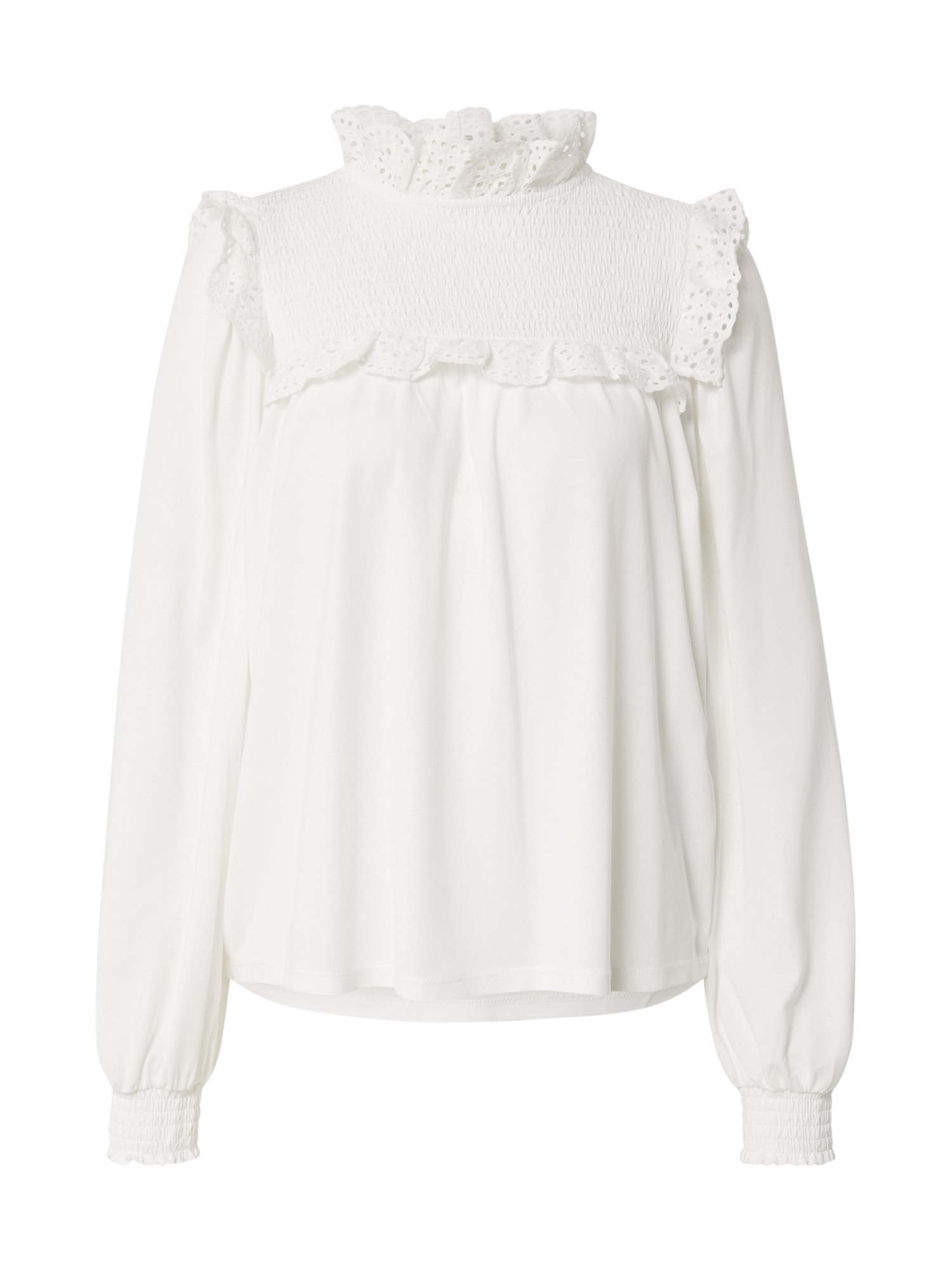 OBJECT Tričko 'MARIA'  bílá