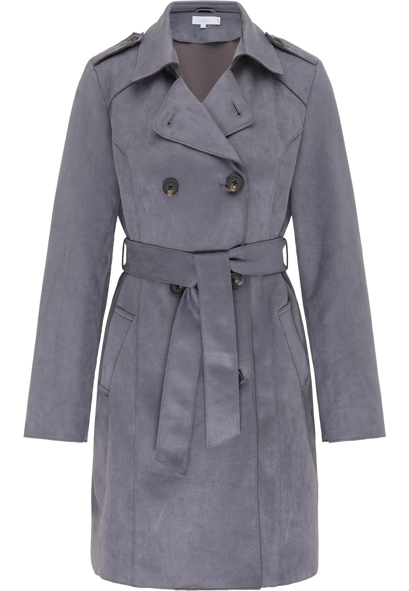 usha BLUE LABEL Demisezoninis paltas pilka