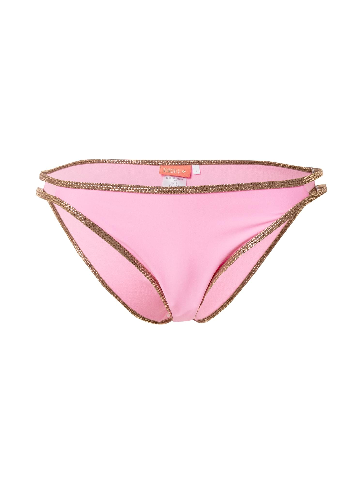 River Island Bikinio kelnaitės rožinė / bronzinė