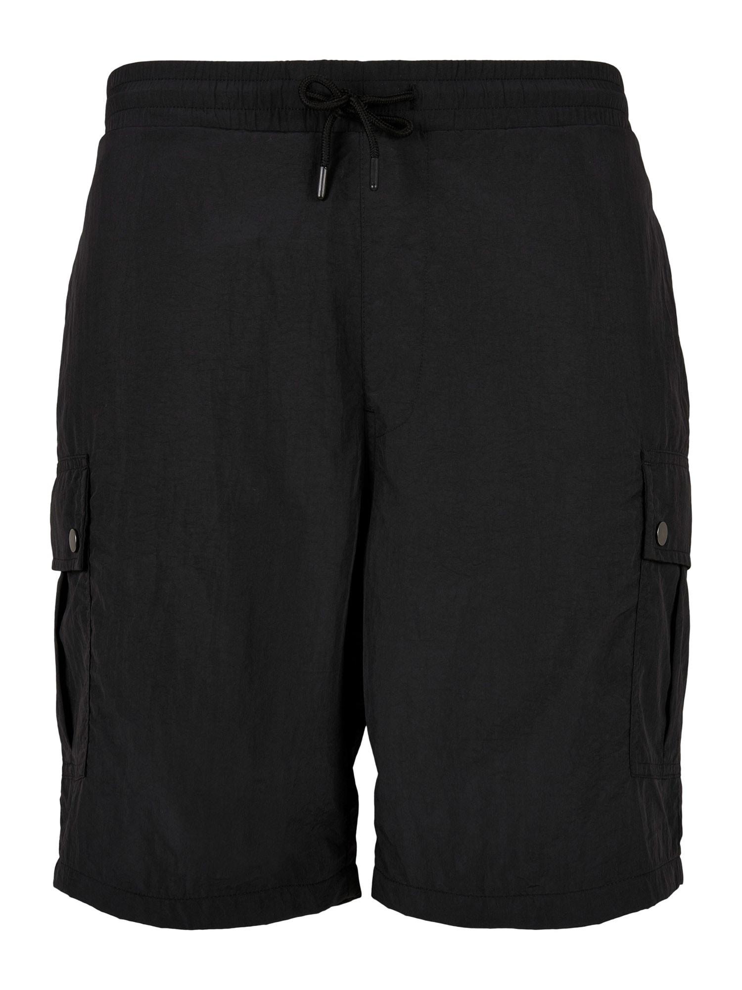 Urban Classics Big & Tall Laisvo stiliaus kelnės juoda