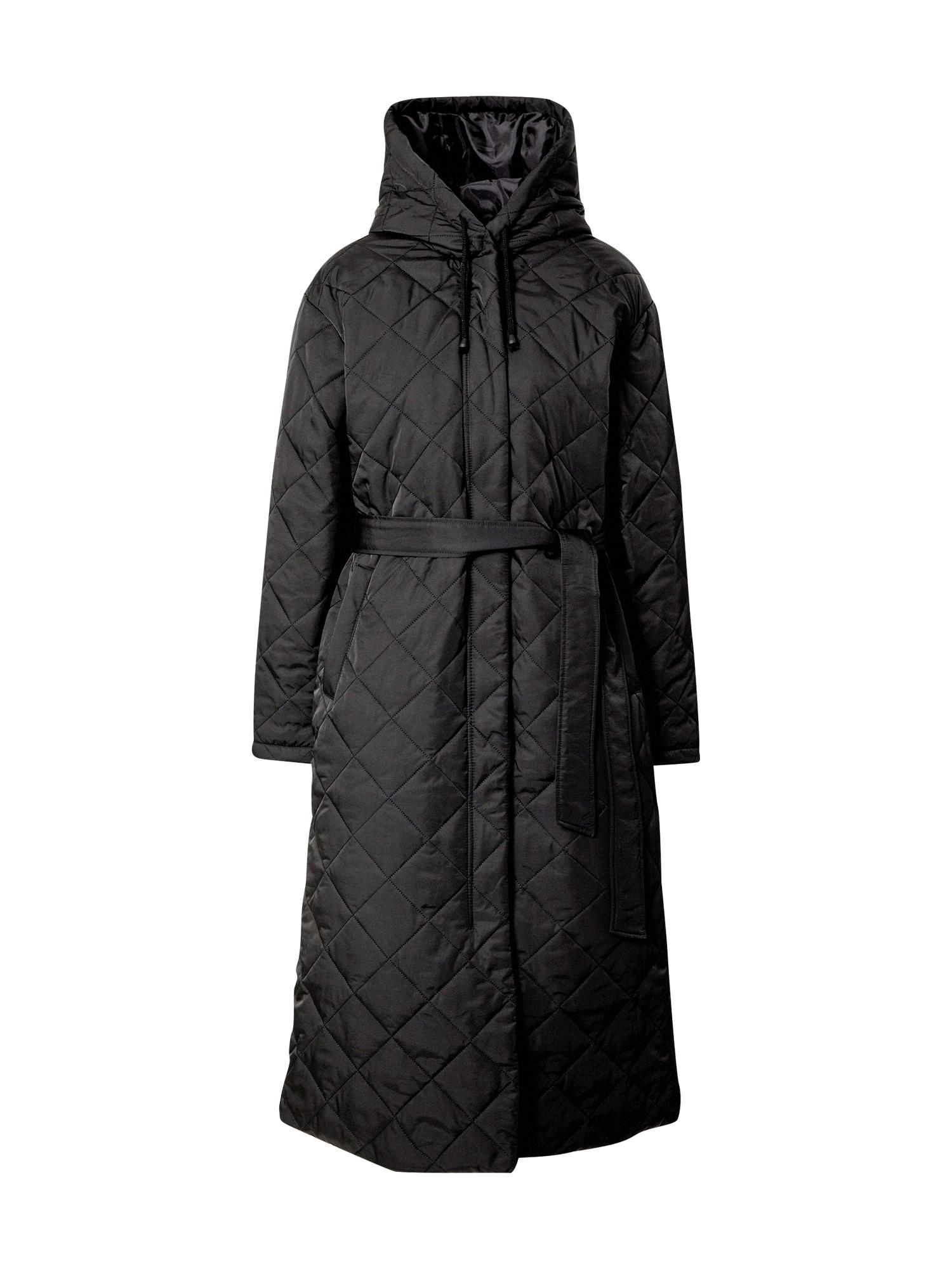 Missguided Žieminis paltas juoda