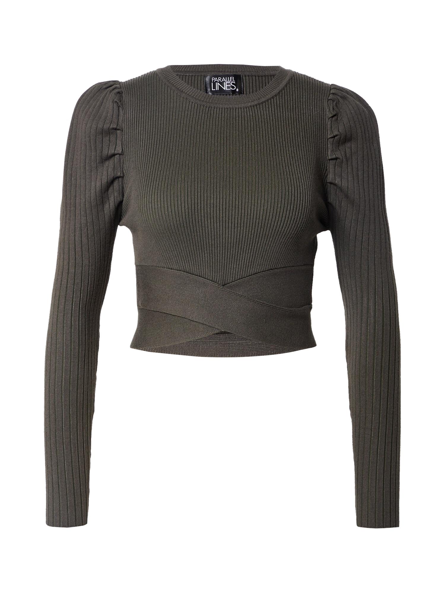 Parallel Lines Marškinėliai tamsiai žalia