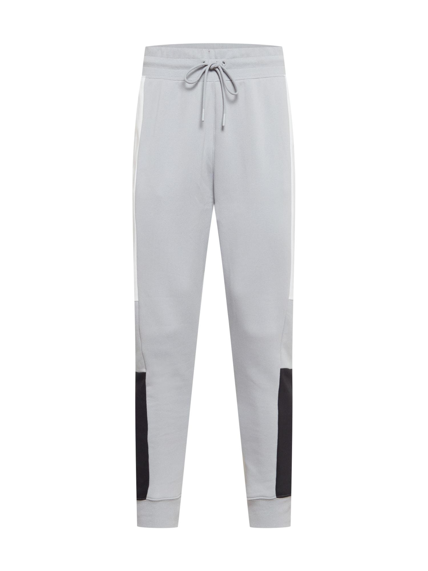 NIKE Sportovní kalhoty 'FC Liverpool Air Max'  šedá / bílá / černá / červená