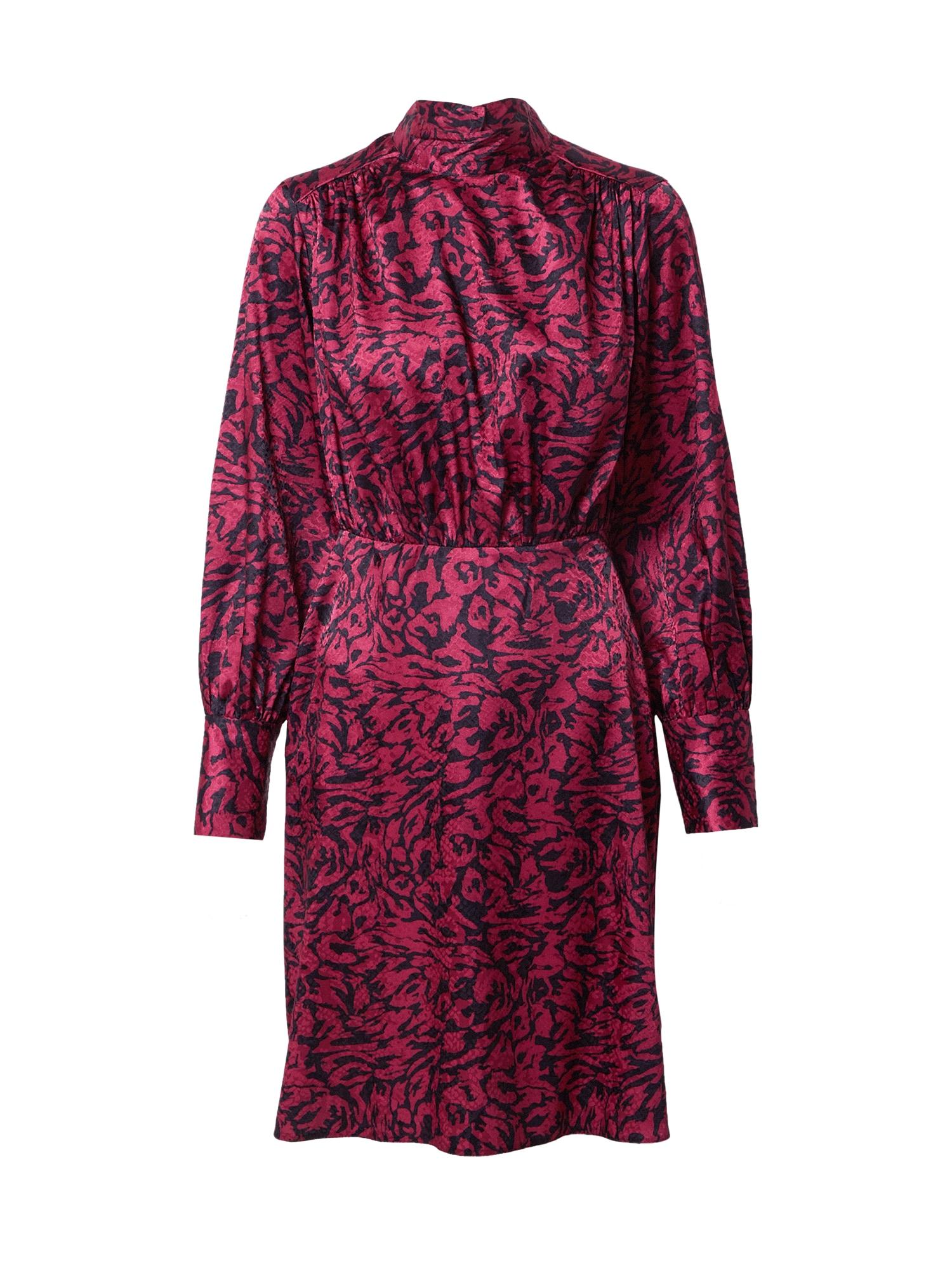 Closet London Suknelė purpurinė / tamsiai mėlyna