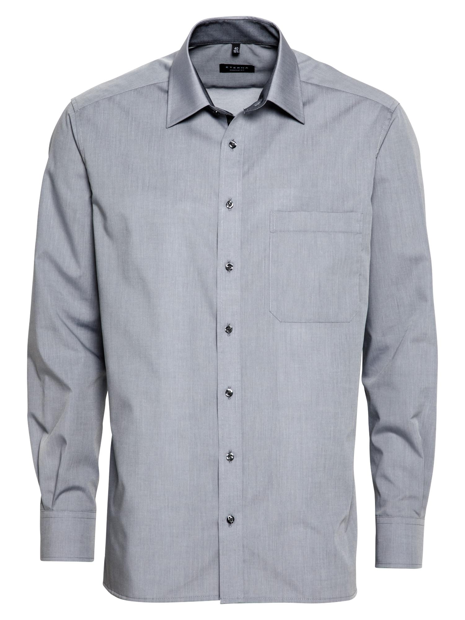 ETERNA Dalykinio stiliaus marškiniai pilka