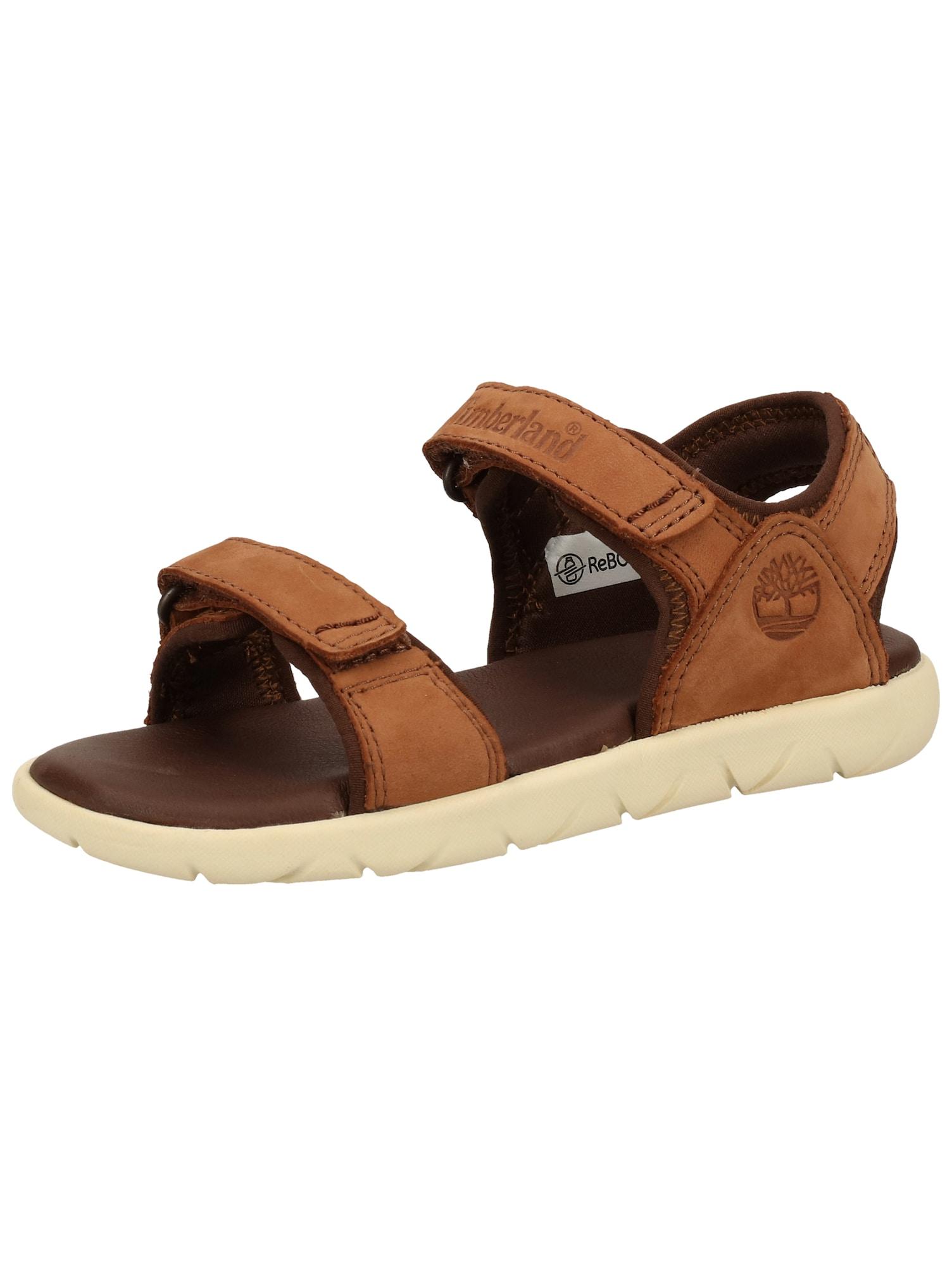 TIMBERLAND Atviri batai zomšos spalva