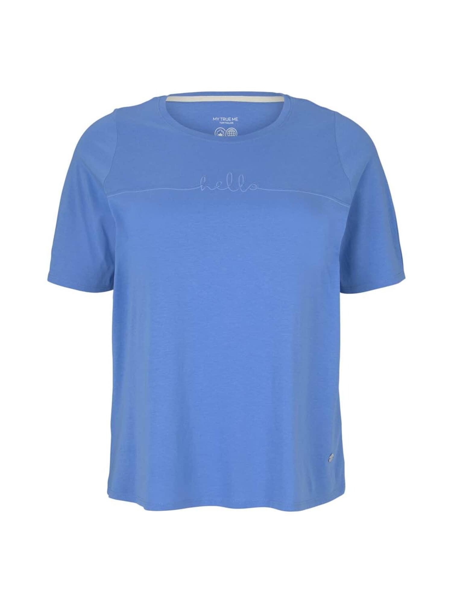 "MY TRUE ME Marškinėliai sodri mėlyna (""karališka"") / šviesiai mėlyna"