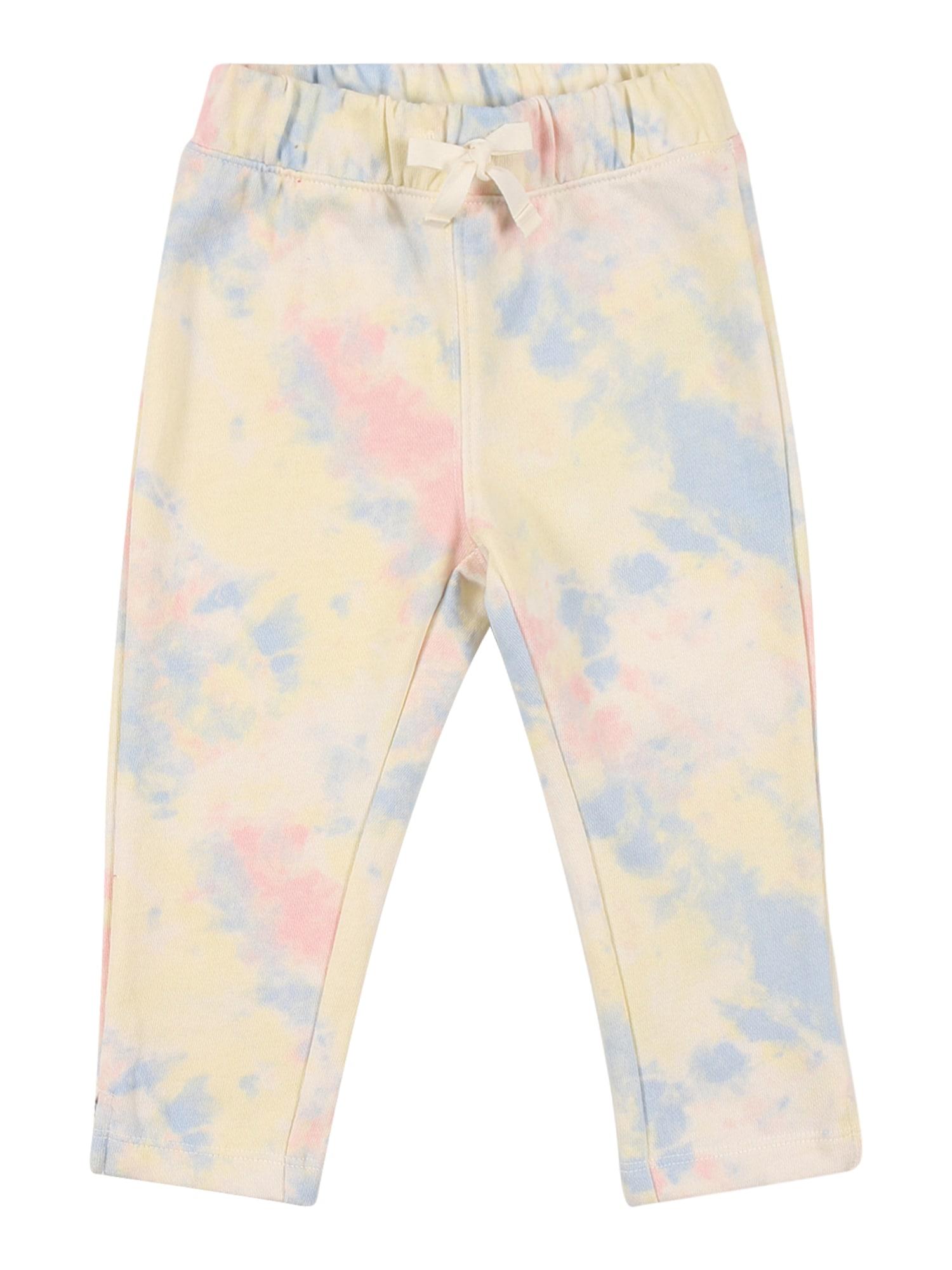 GAP Kelnės pastelinė rožinė / pastelinė mėlyna / pastelinė geltona