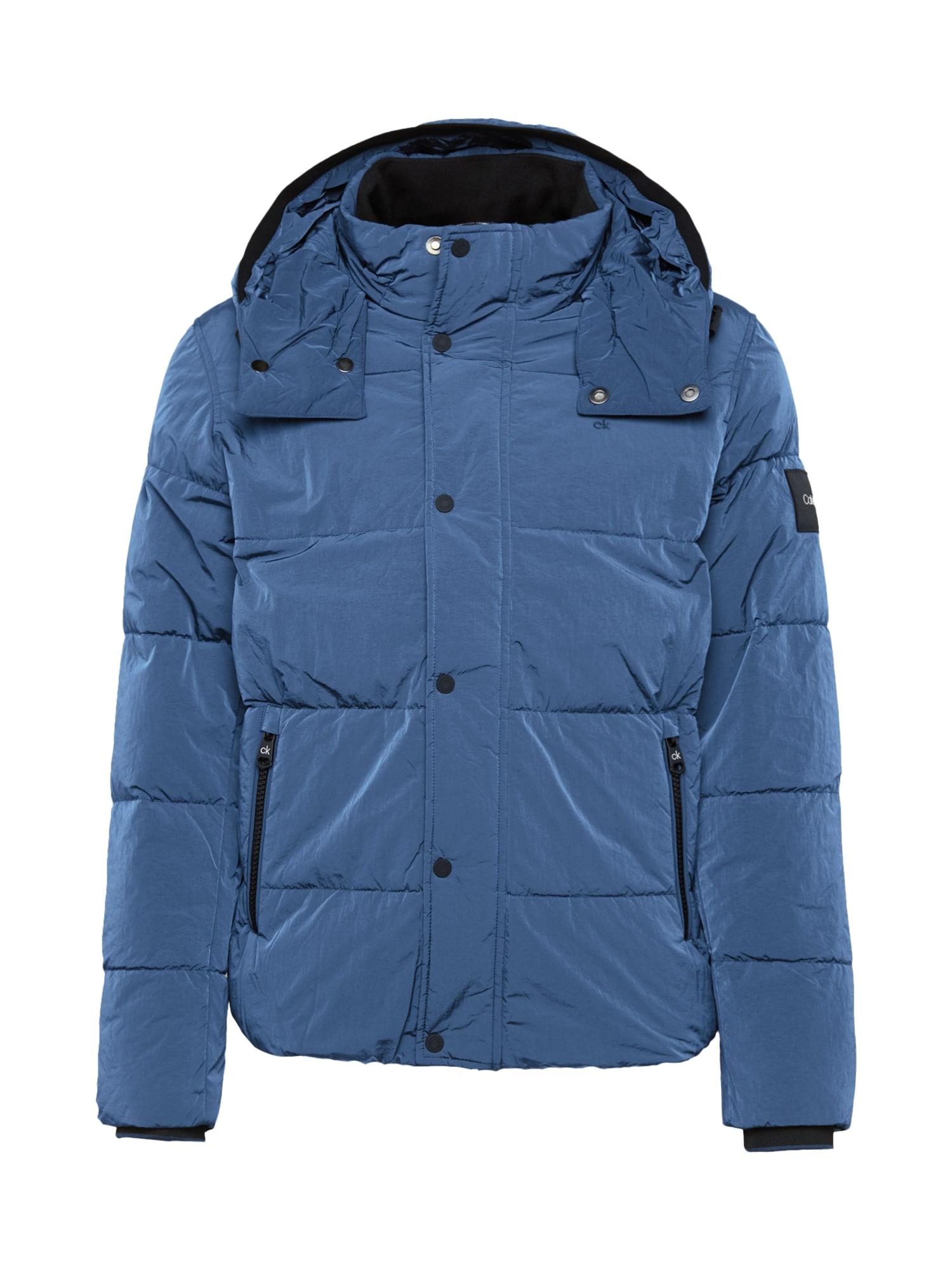 Calvin Klein Demisezoninė striukė tamsiai mėlyna