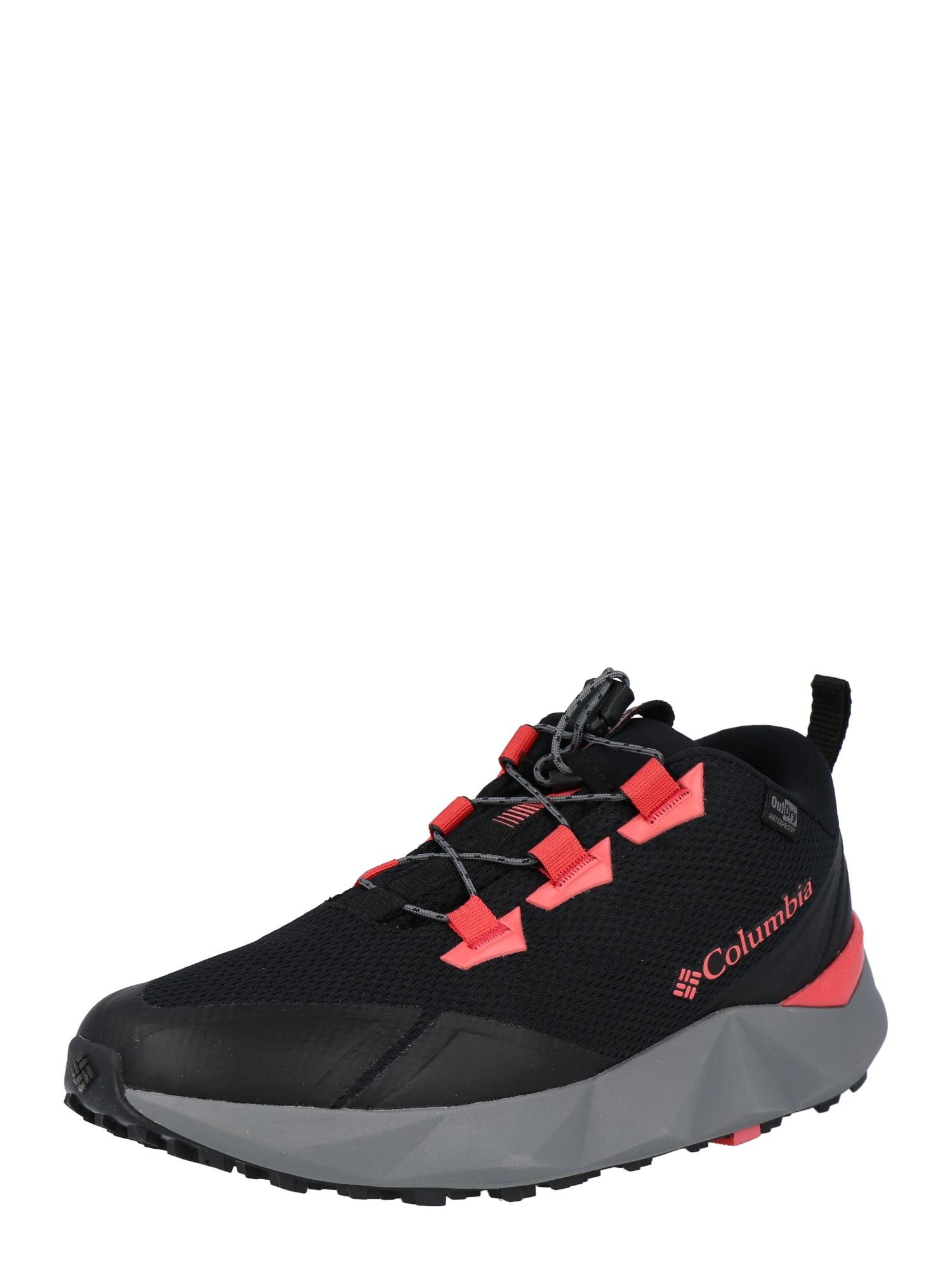 COLUMBIA Sportiniai batai 'FACET 30 OUTDRY' juoda / koralų splava