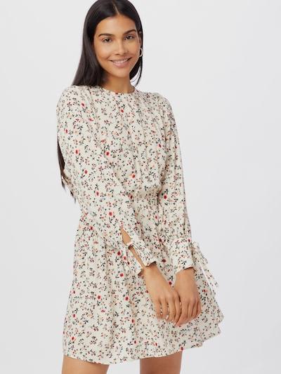 CASEY D Kurzes Kleid mit offener Rückenpartie und Bindedetail