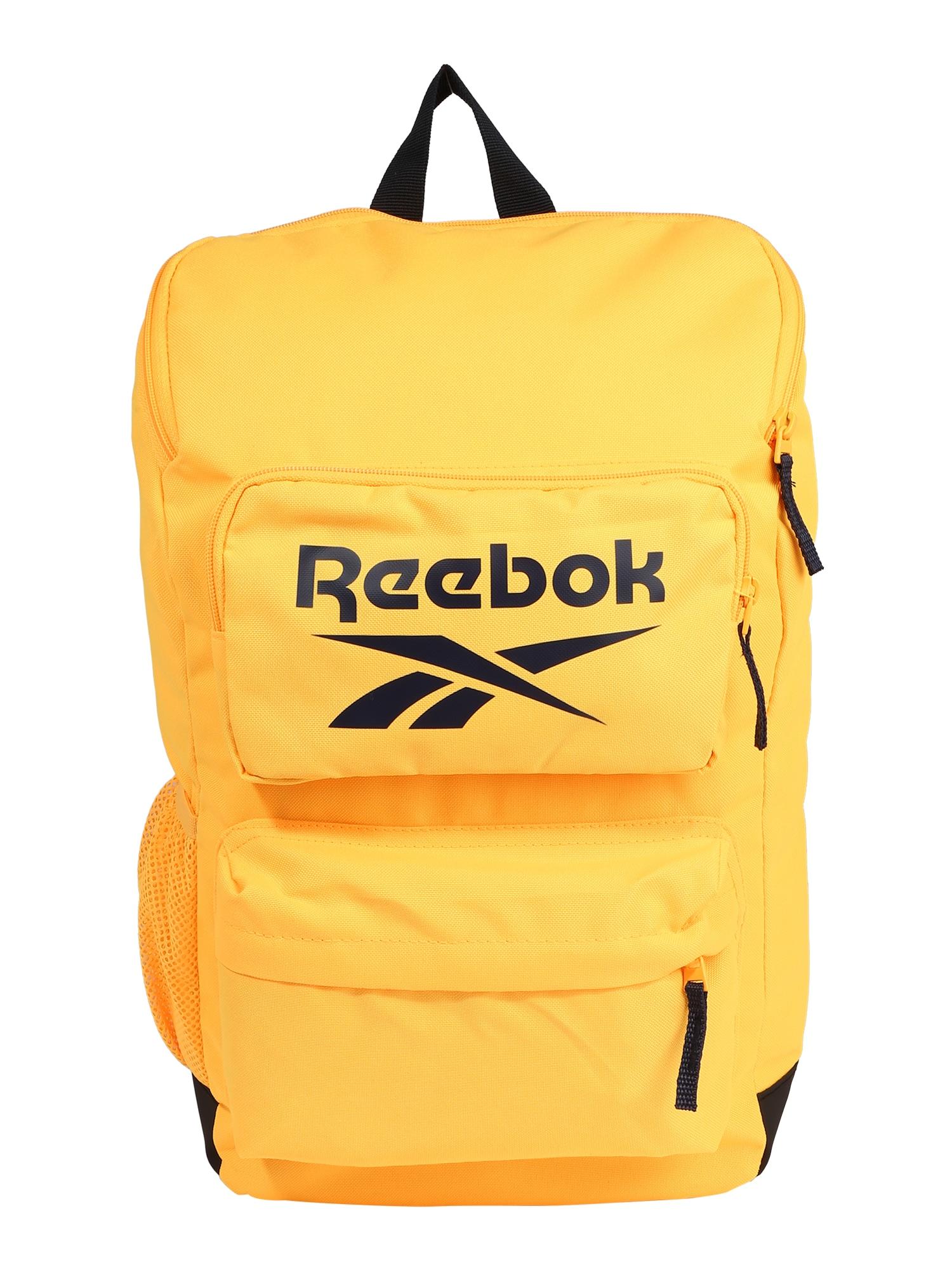 Reebok Sport Sportinė kuprinė geltona / juoda