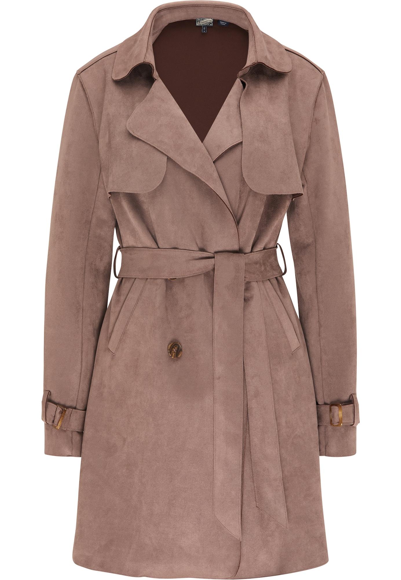 DreiMaster Vintage Demisezoninis paltas tamsi smėlio