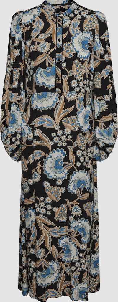 Vero Moda Tall Lola langes Hängerkleid mit langen Ärmeln und Retro-Blumenprint