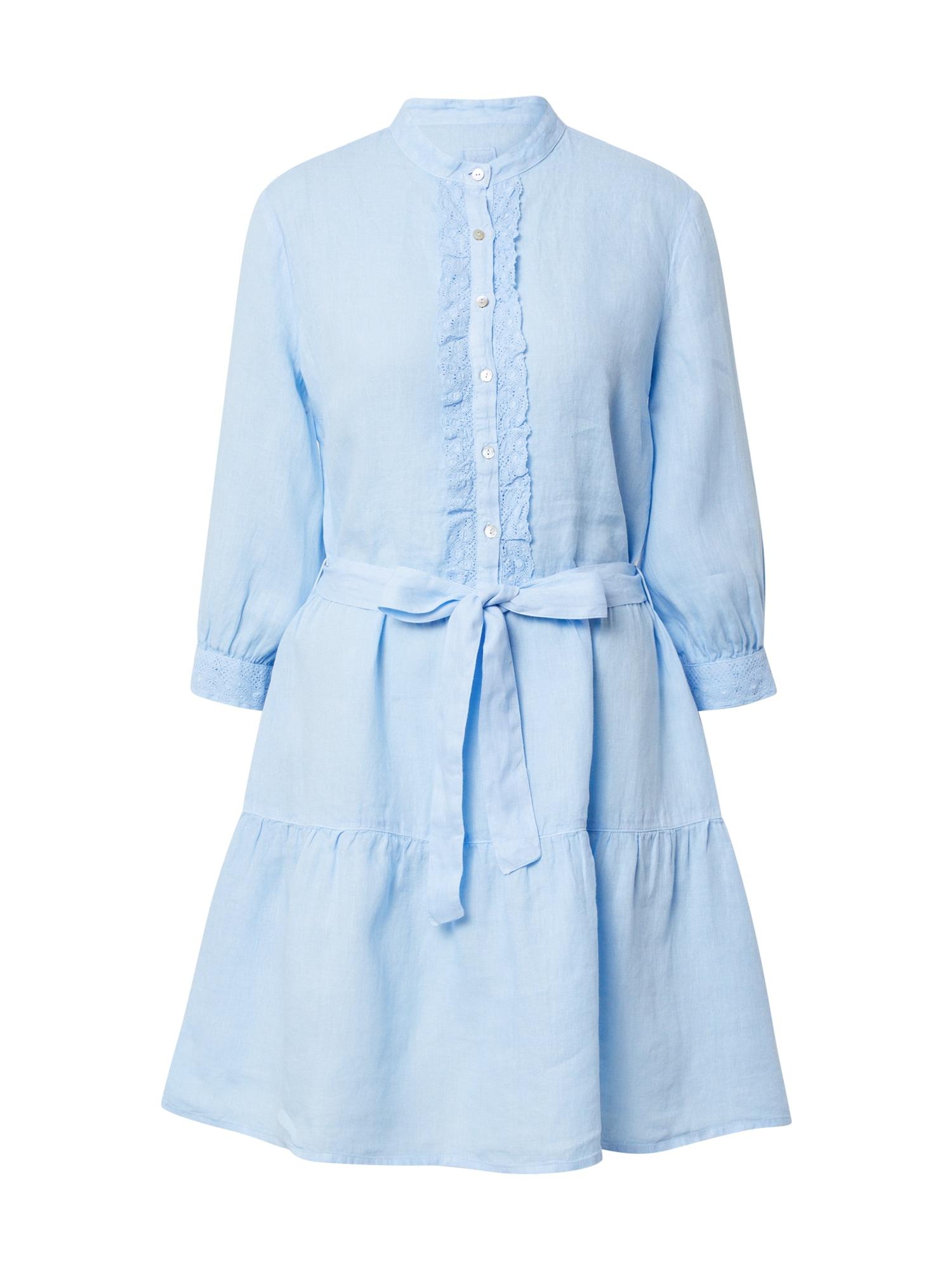 120% Lino Palaidinės tipo suknelė šviesiai mėlyna