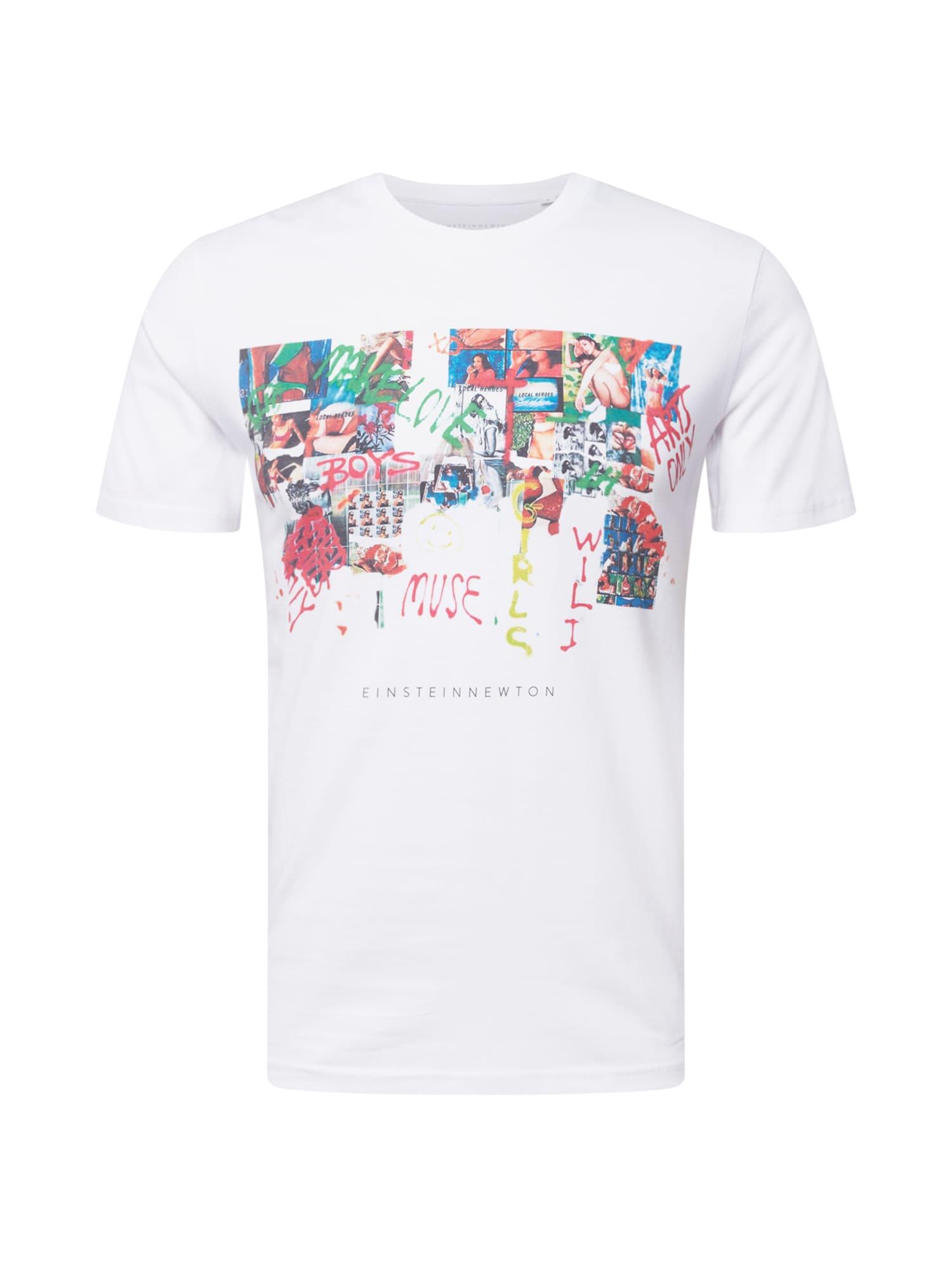 EINSTEIN & NEWTON Marškinėliai balta / mėlyna / raudona / žalia / mišrios spalvos