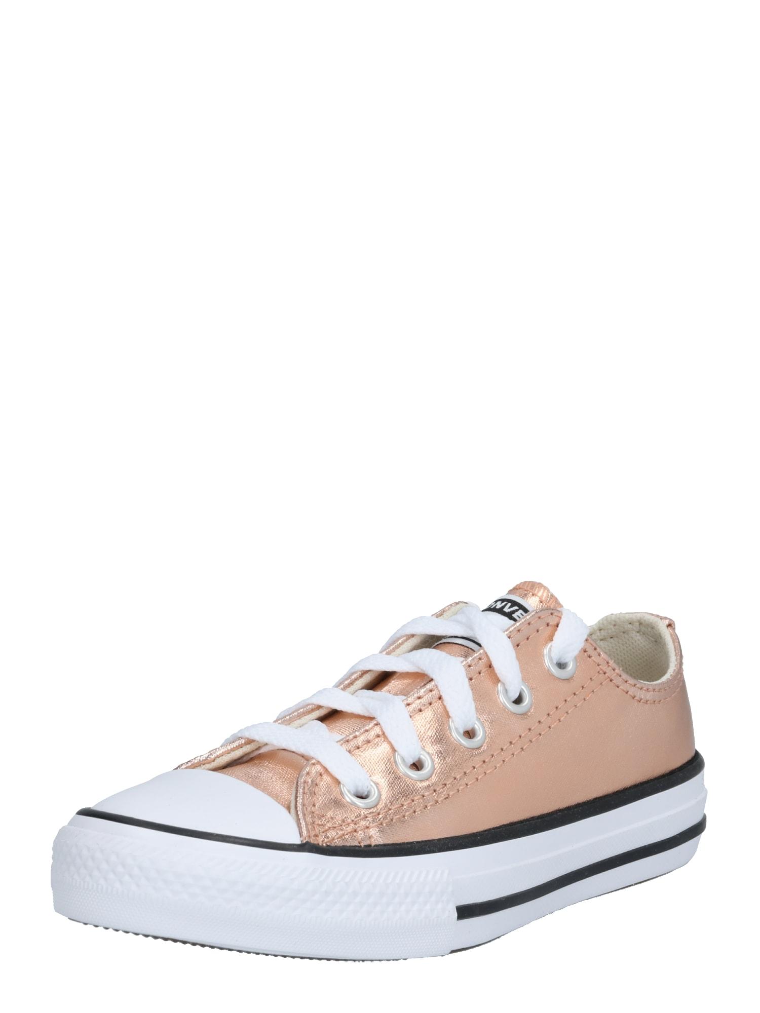 CONVERSE Sportbačiai 'CTAS' balta / rožinio aukso spalva